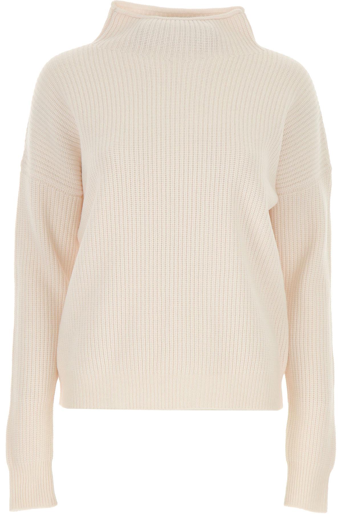Peserico Sweater for Women Jumper On Sale, Milk, Wool, 2019, 10 6 8