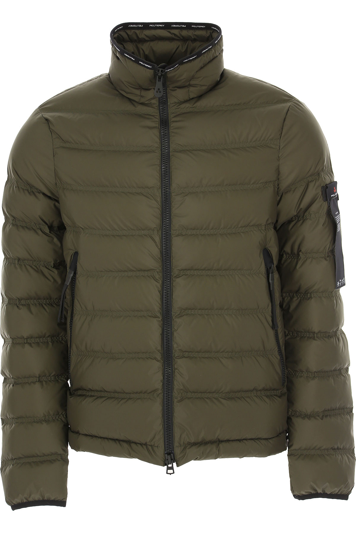 Peuterey Down Jacket for Men, Puffer Ski Jacket On Sale, Mud, polyamide, 2019, 6 8
