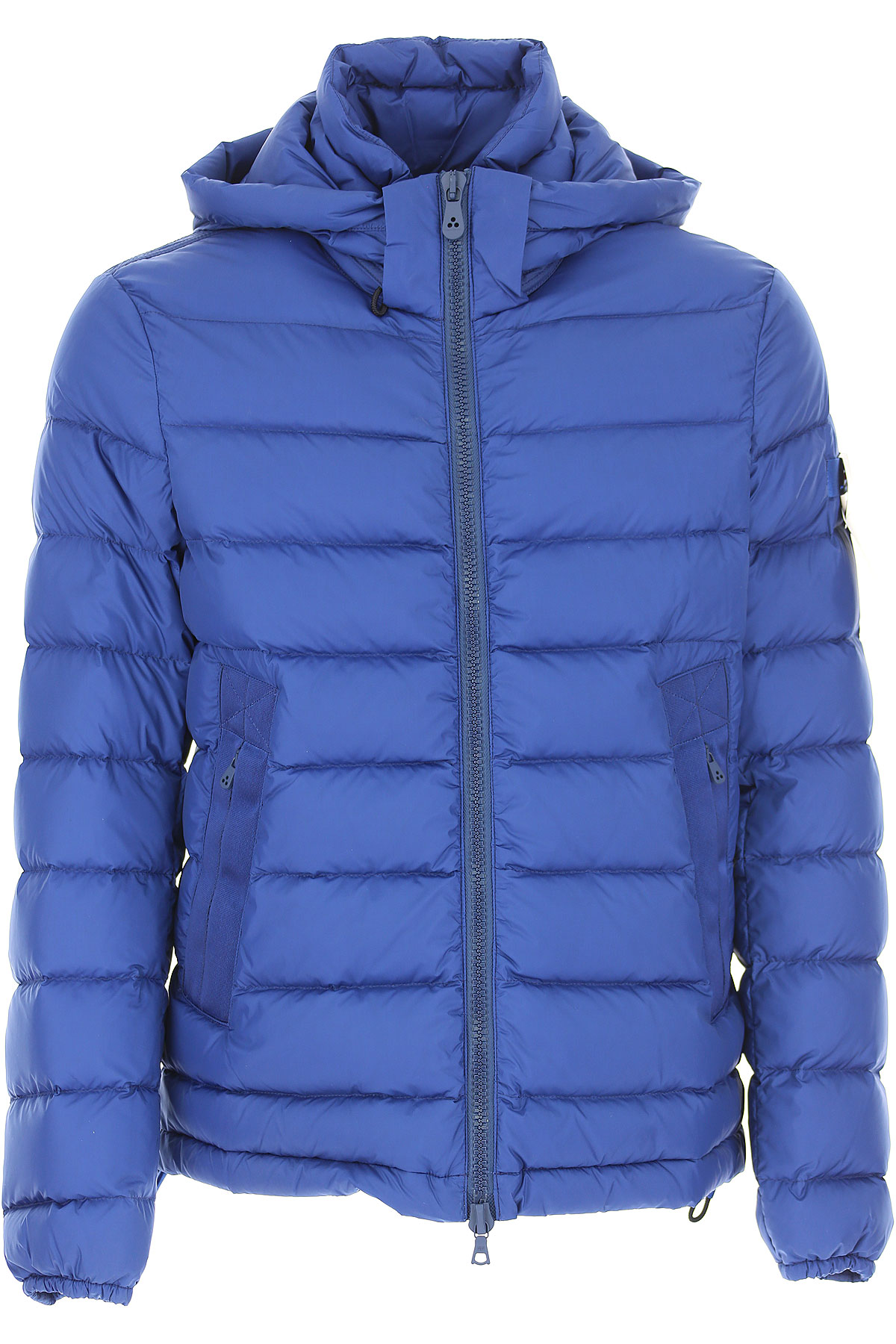 Image of Peuterey Down Jacket for Men, Puffer Ski Jacket, Bluette, polyamide, 2017, L M S XL