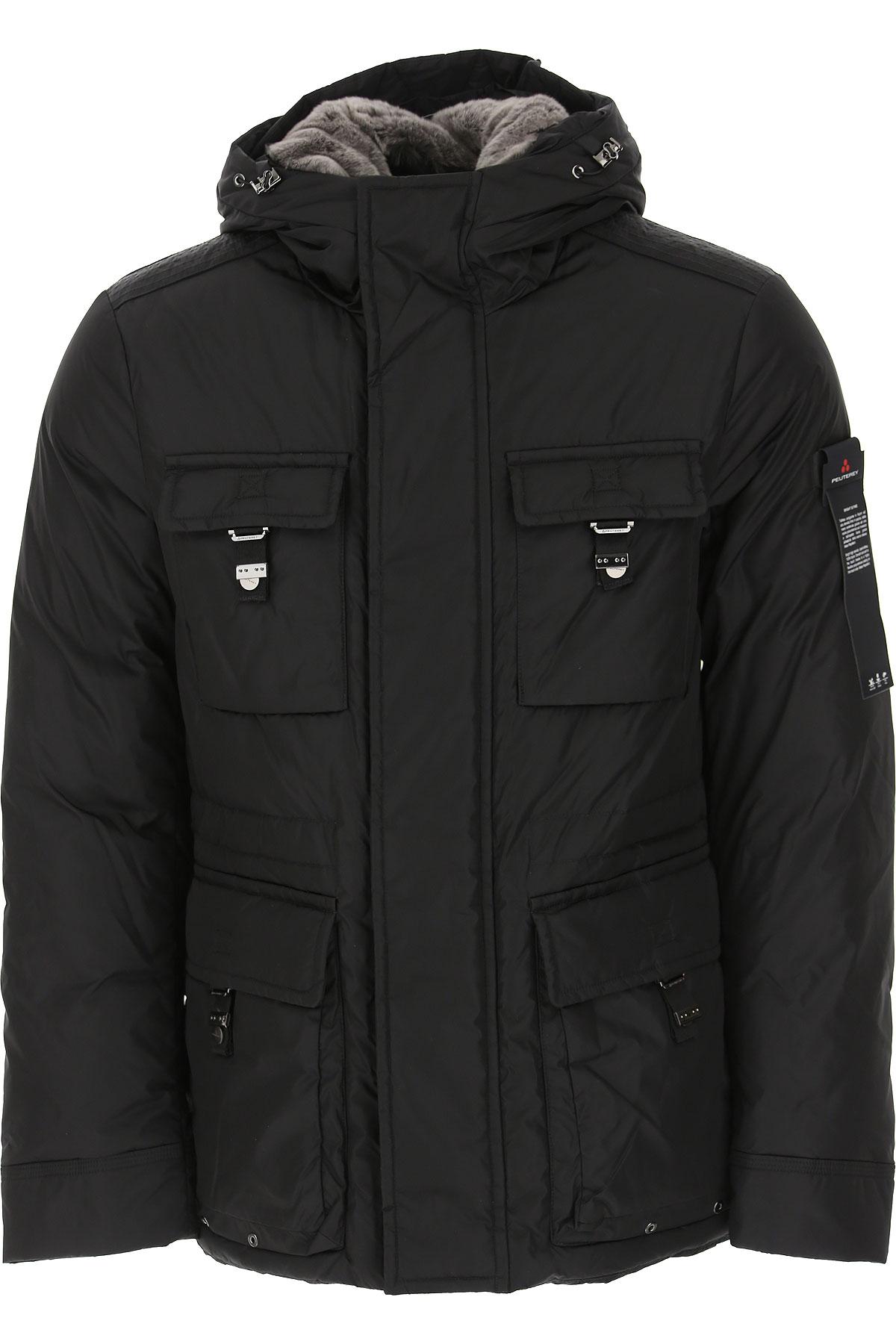 Peuterey Down Jacket for Men, Puffer Ski Jacket On Sale, Black, polyamide, 2019, L M S XL XXL