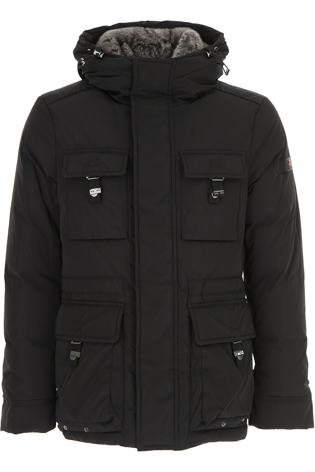 Peuterey Down Jacket for Men, Puffer Ski Jacket, Black, Down, 2019, L M XL XXL