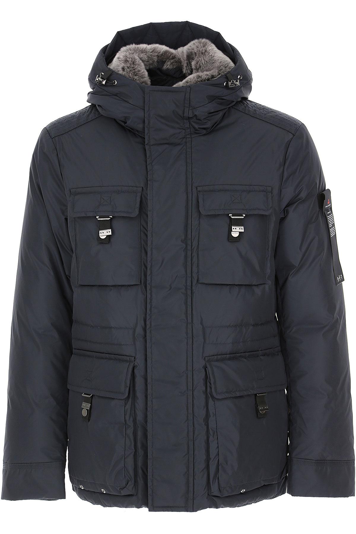 Peuterey Down Jacket for Men, Puffer Ski Jacket On Sale, Dark Navy Blue, Down, 2019, L M S XL XXL