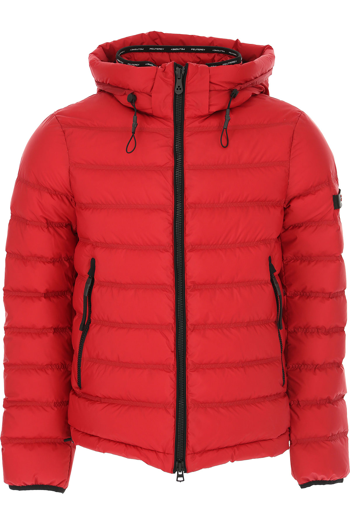 Peuterey Down Jacket for Men, Puffer Ski Jacket On Sale, Flame Red, polyester, 2019, L S