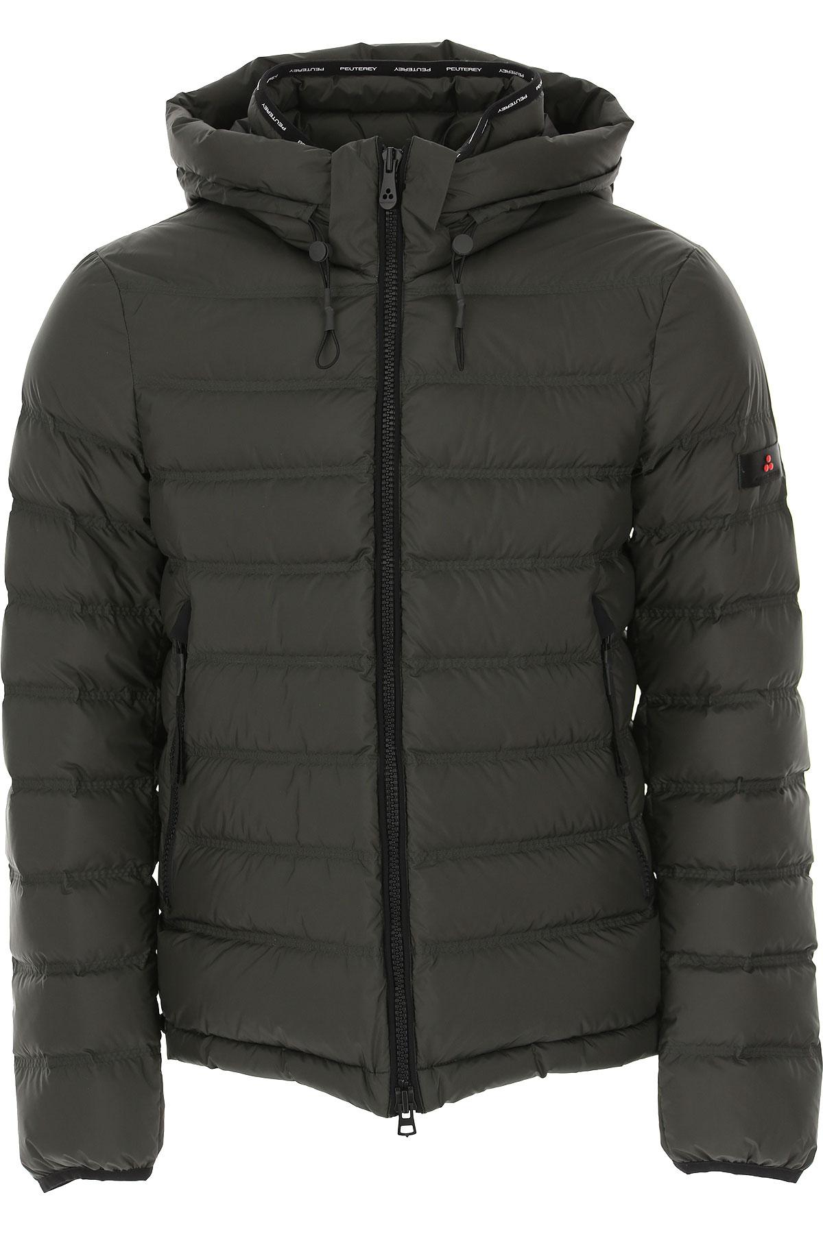 Peuterey Down Jacket for Men, Puffer Ski Jacket On Sale, Medium Grey, polyester, 2019, L S