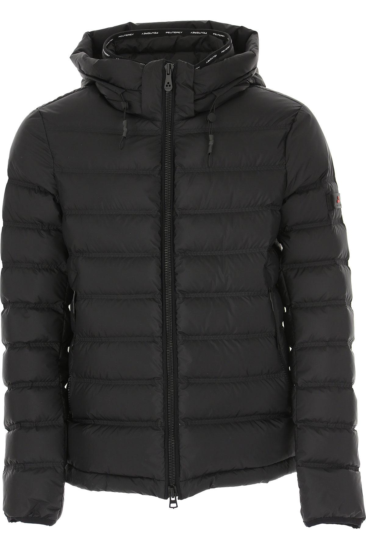 Peuterey Down Jacket for Men, Puffer Ski Jacket On Sale, Black, polyester, 2019, L M S XL XXL