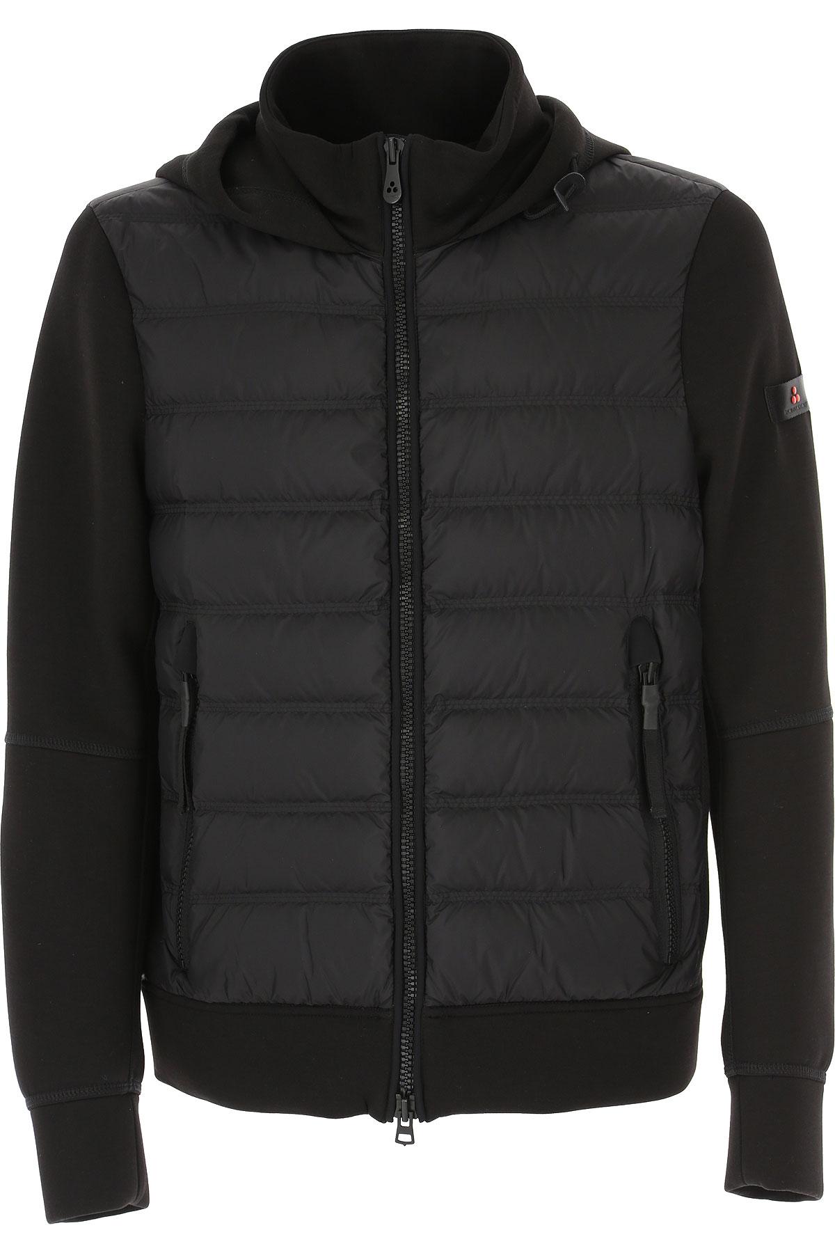 Peuterey Down Jacket for Men, Puffer Ski Jacket On Sale, Black, Down, 2019, L M S XL XXL