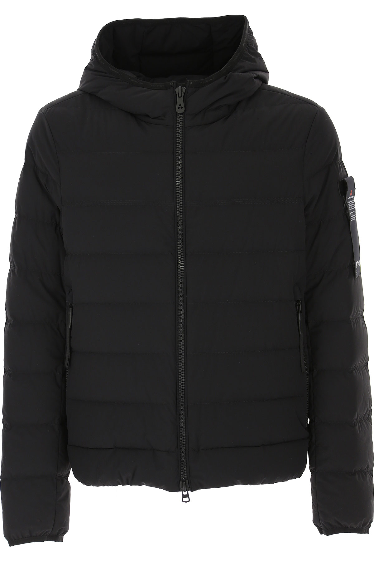 Peuterey Down Jacket for Men, Puffer Ski Jacket On Sale, Black, Down, 2019, L M S XL