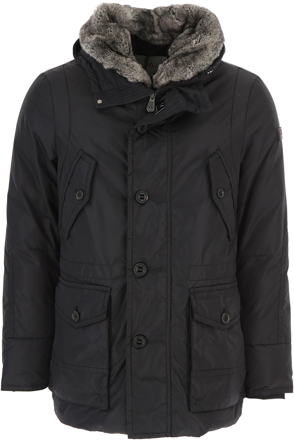 Image of Peuterey Down Jacket for Men, Puffer Ski Jacket, Black, Down, 2017, L S XL XXL