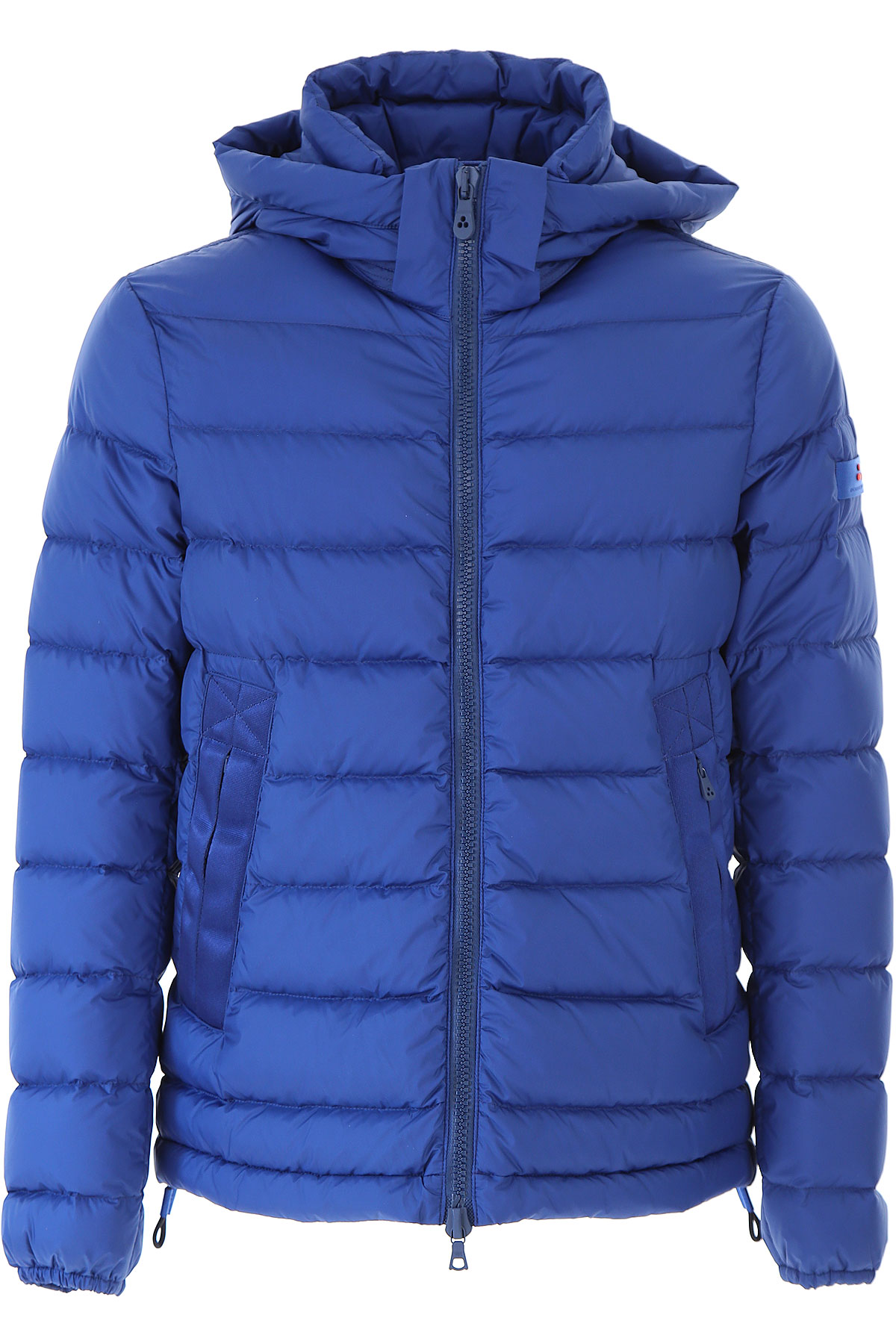 Image of Peuterey Down Jacket for Men, Puffer Ski Jacket, Blue Sea, polyamide, 2017, L S XL