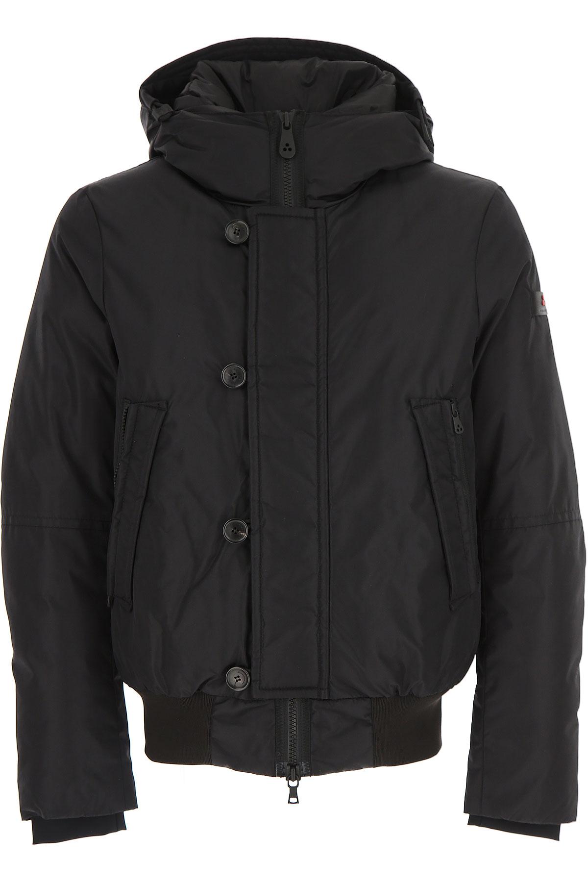 Image of Peuterey Down Jacket for Men, Puffer Ski Jacket, Black, Down, 2017, L M S XL