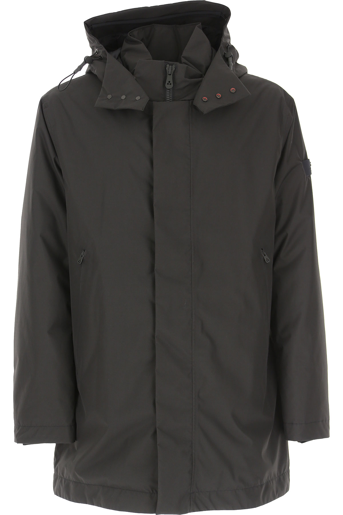 Peuterey Down Jacket for Men, Puffer Ski Jacket On Sale, Black, Down, 2019, L S XL