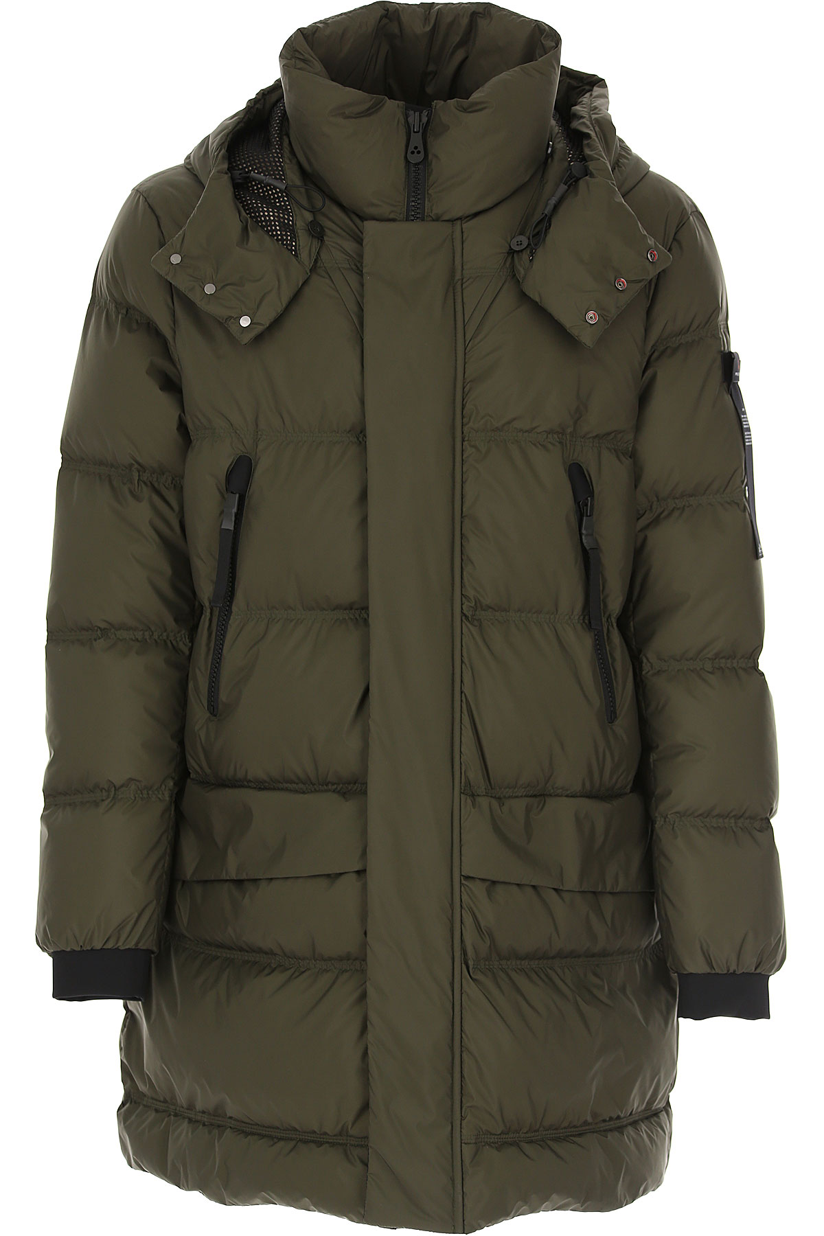 Peuterey Down Jacket for Men, Puffer Ski Jacket On Sale, Military Green, Down, 2019, L M S