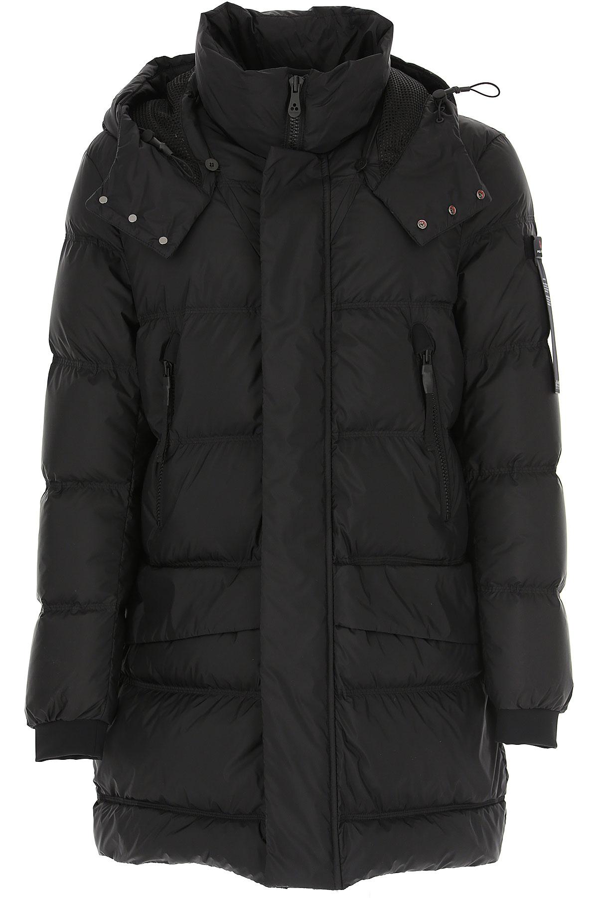 Peuterey Down Jacket for Men, Puffer Ski Jacket On Sale, Black, Down, 2019, L S