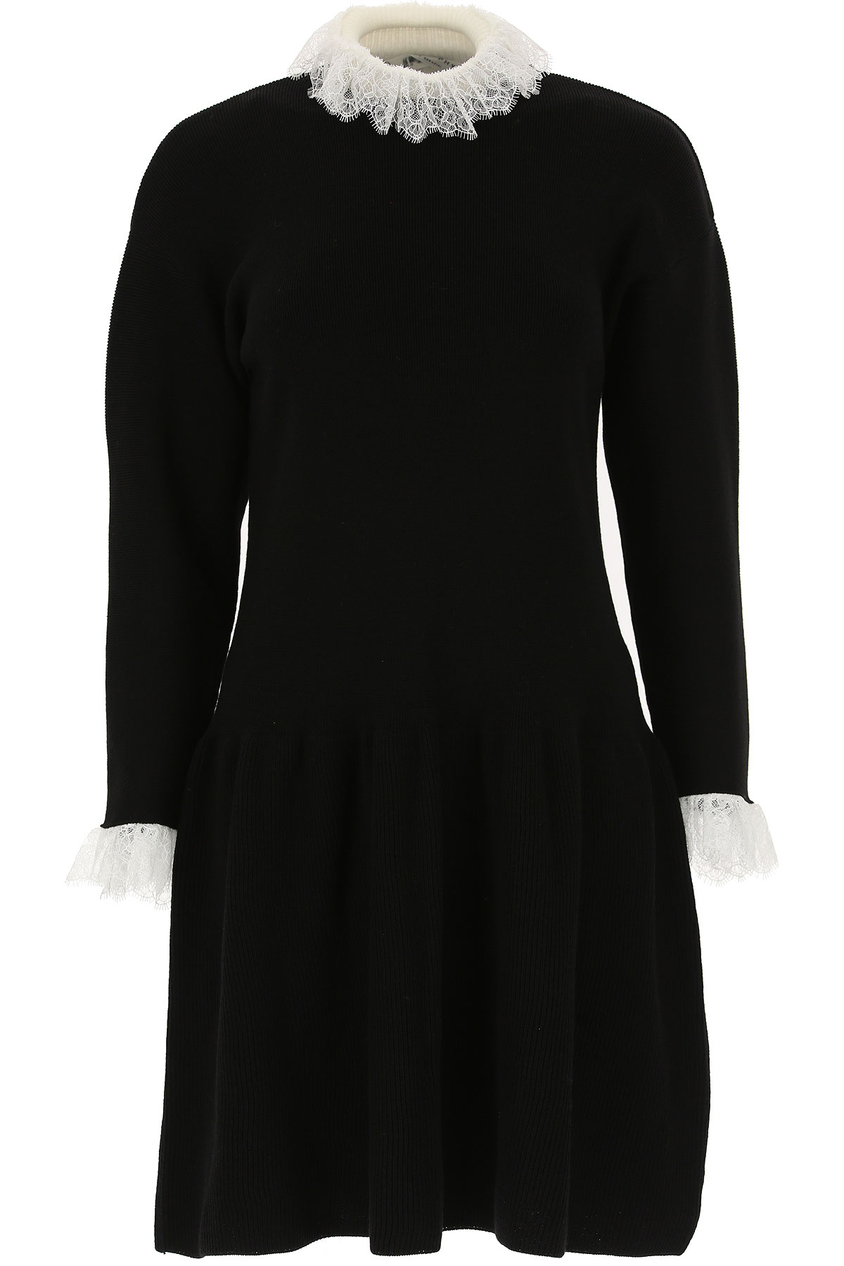 Image of Philosophy di Lorenzo Serafini Dress for Women, Evening Cocktail Party, Black, polyamide, 2017, 6 8