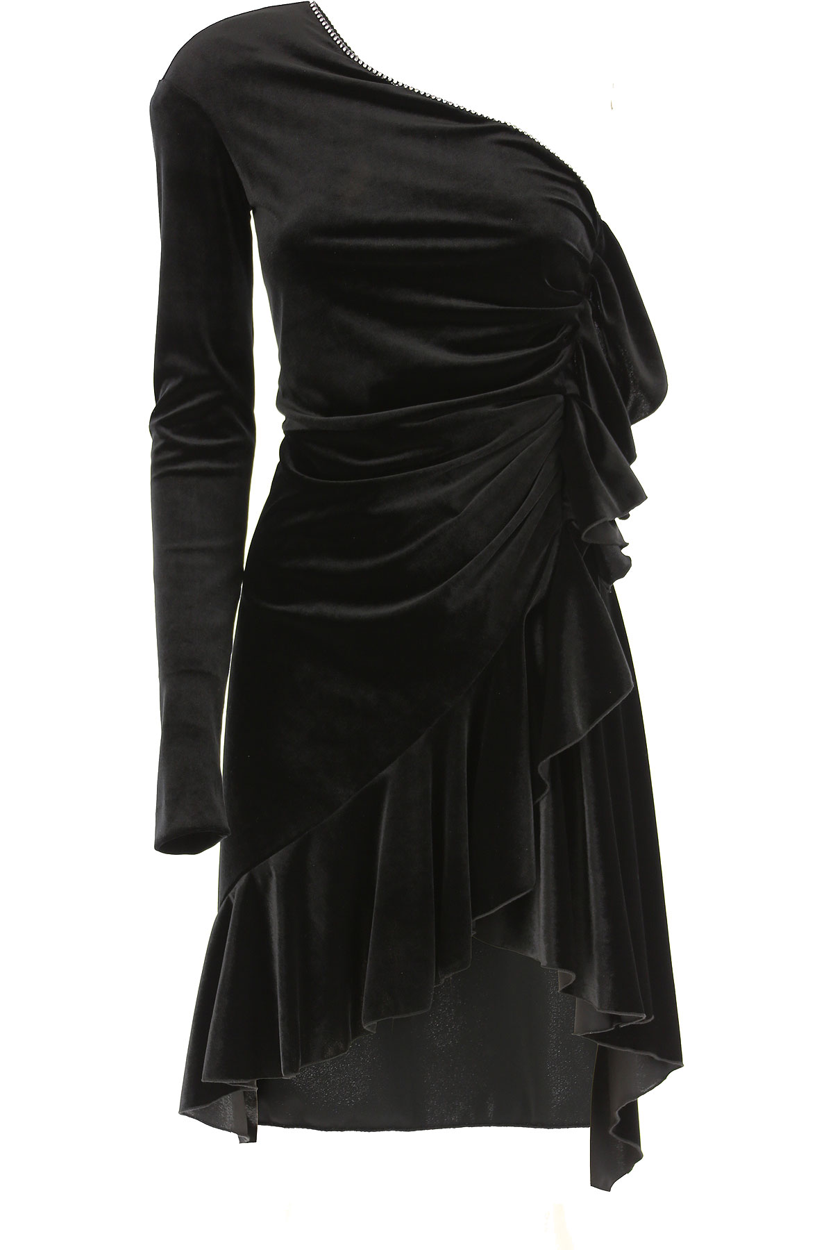 Philosophy di Lorenzo Serafini Dress for Women, Evening Cocktail Party On Sale, Black, polyester, 2019, 4 8