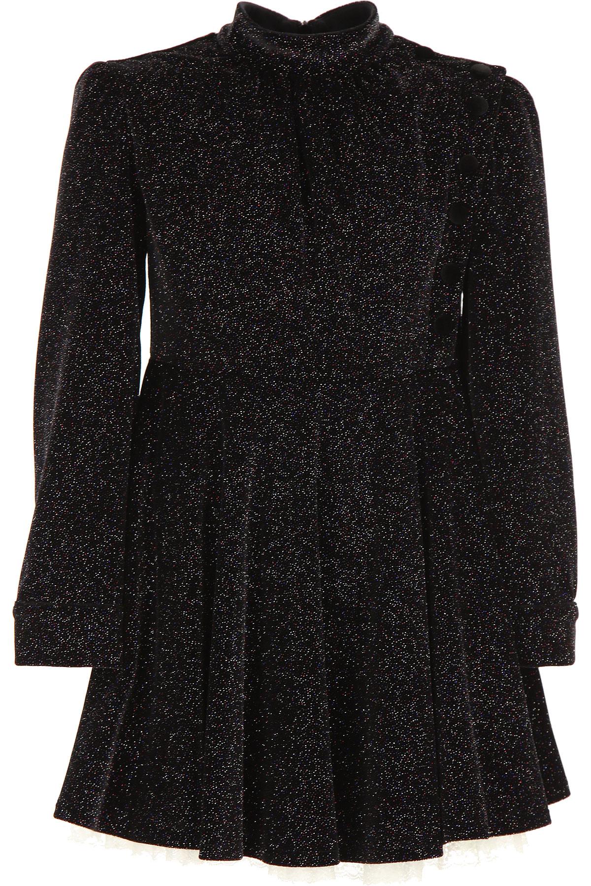 Philosophy di Lorenzo Serafini Girls Dress On Sale, Black, Polyeste, 2019, M S XS