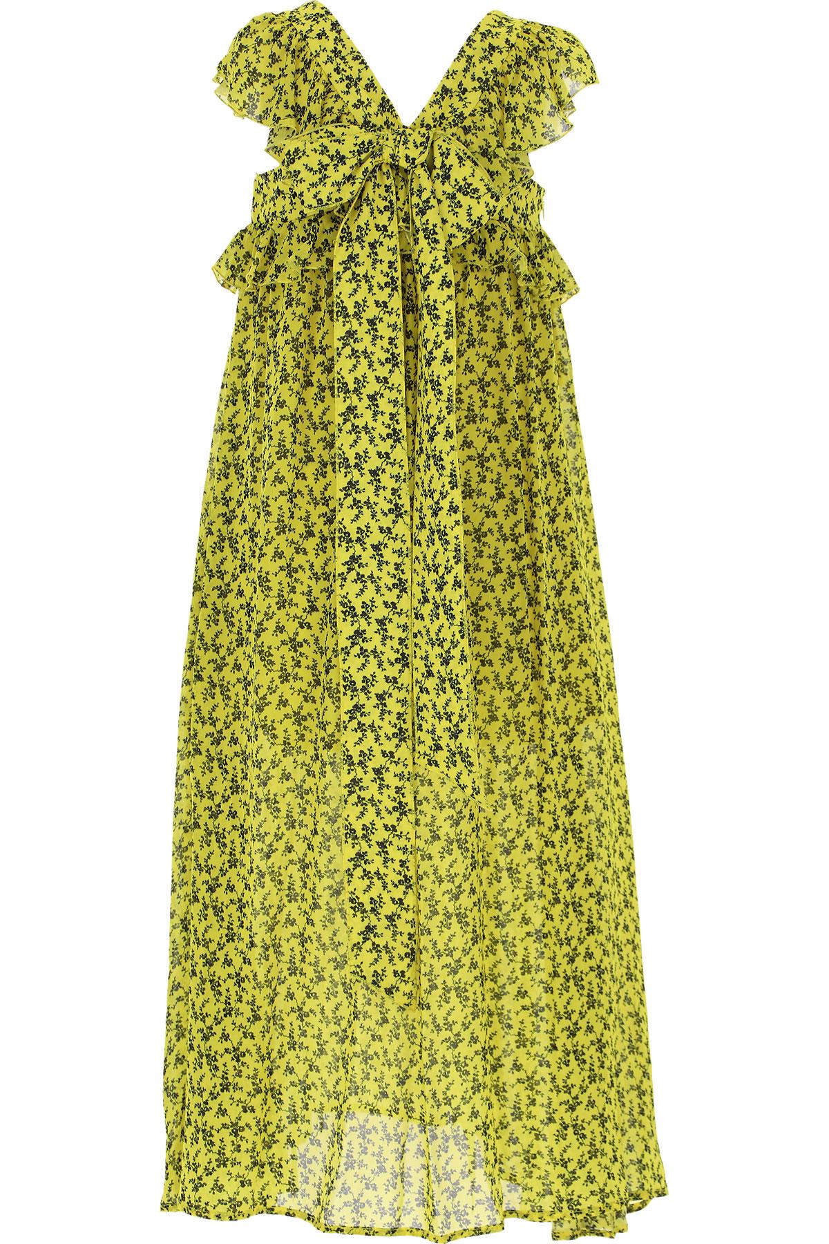 Philosophy di Lorenzo Serafini Girls Dress On Sale, Yellow, Viscose, 2019, L M XL