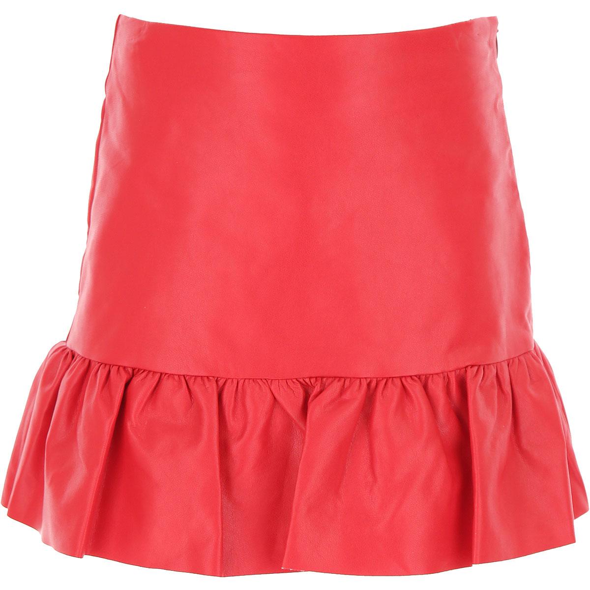 Philosophy di Lorenzo Serafini Kids Skirts for Girls On Sale, Red, polyurethane, 2019, 10Y 12Y 6Y 8Y
