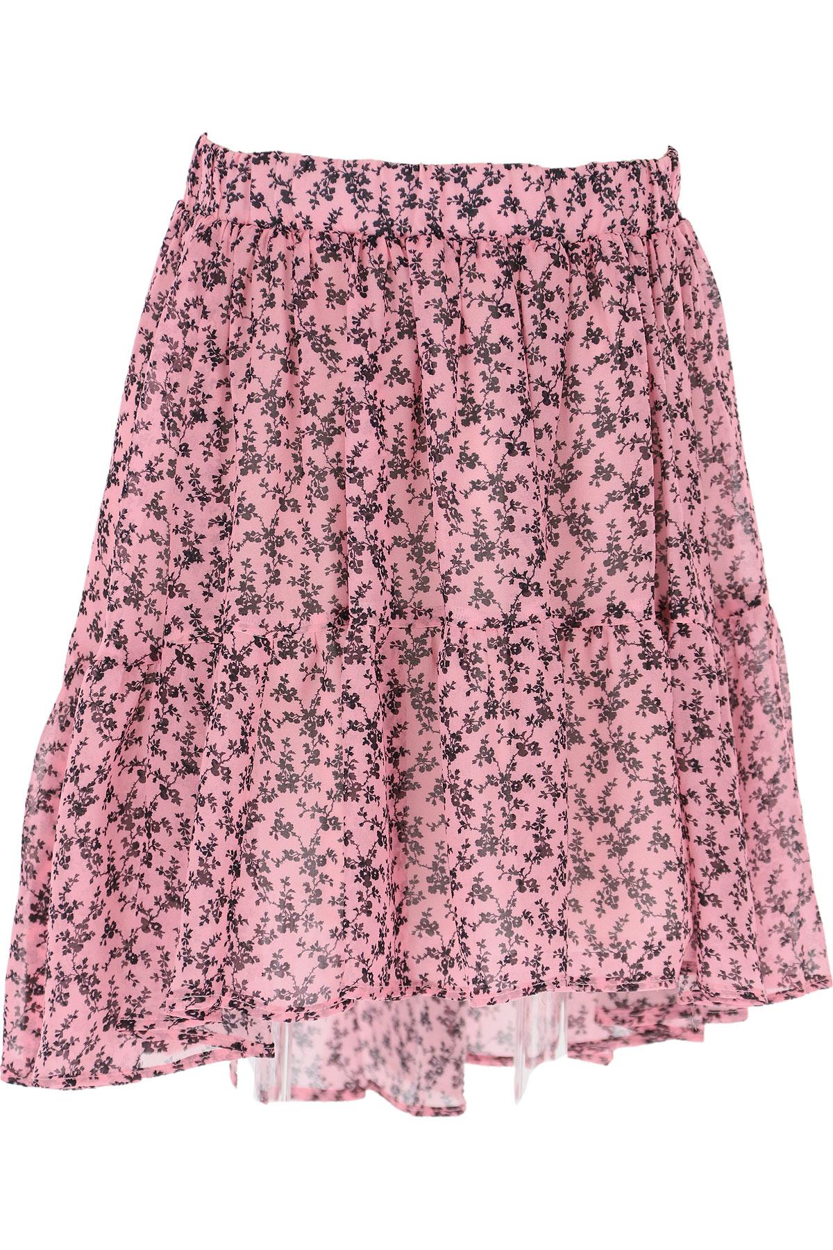 Philosophy di Lorenzo Serafini Kids Skirts for Girls On Sale, Mauve pink, Viscose, 2019, L M S XL XS XXS