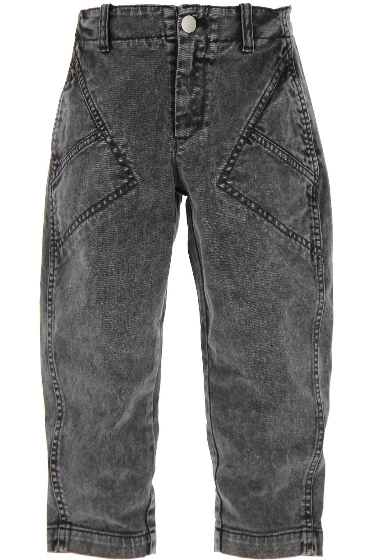 Philosophy di Lorenzo Serafini Kids Jeans for Girls On Sale, Dark Grey, Cotton, 2019, 6Y 8Y