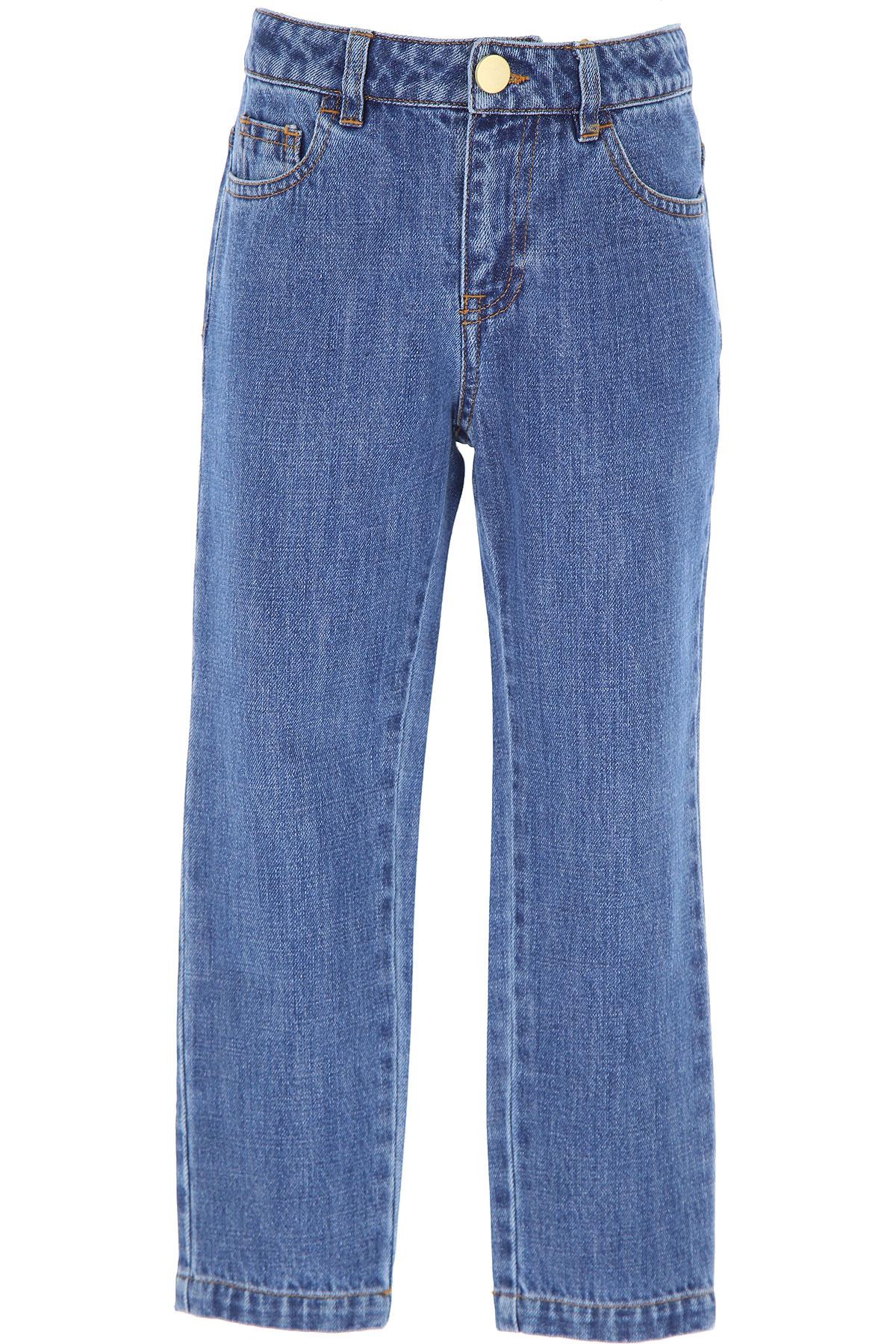 Philosophy di Lorenzo Serafini Kids Jeans for Girls On Sale, Blue Denim, Cotton, 2019, 10Y 12Y 6Y 8Y