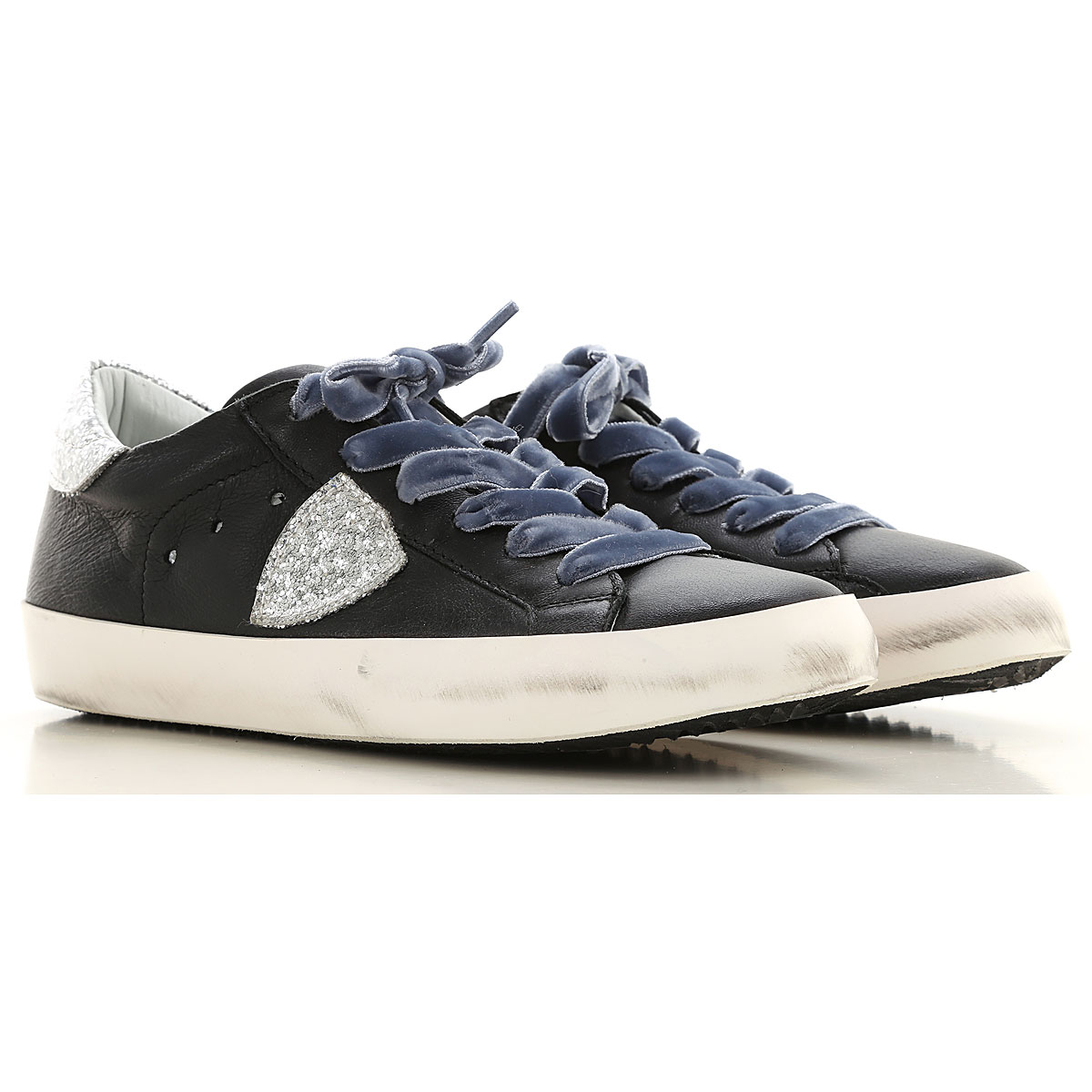 Philippe Model Kids Shoes for Girls On Sale in Outlet, Black, Leather, 2019, 31 32 34