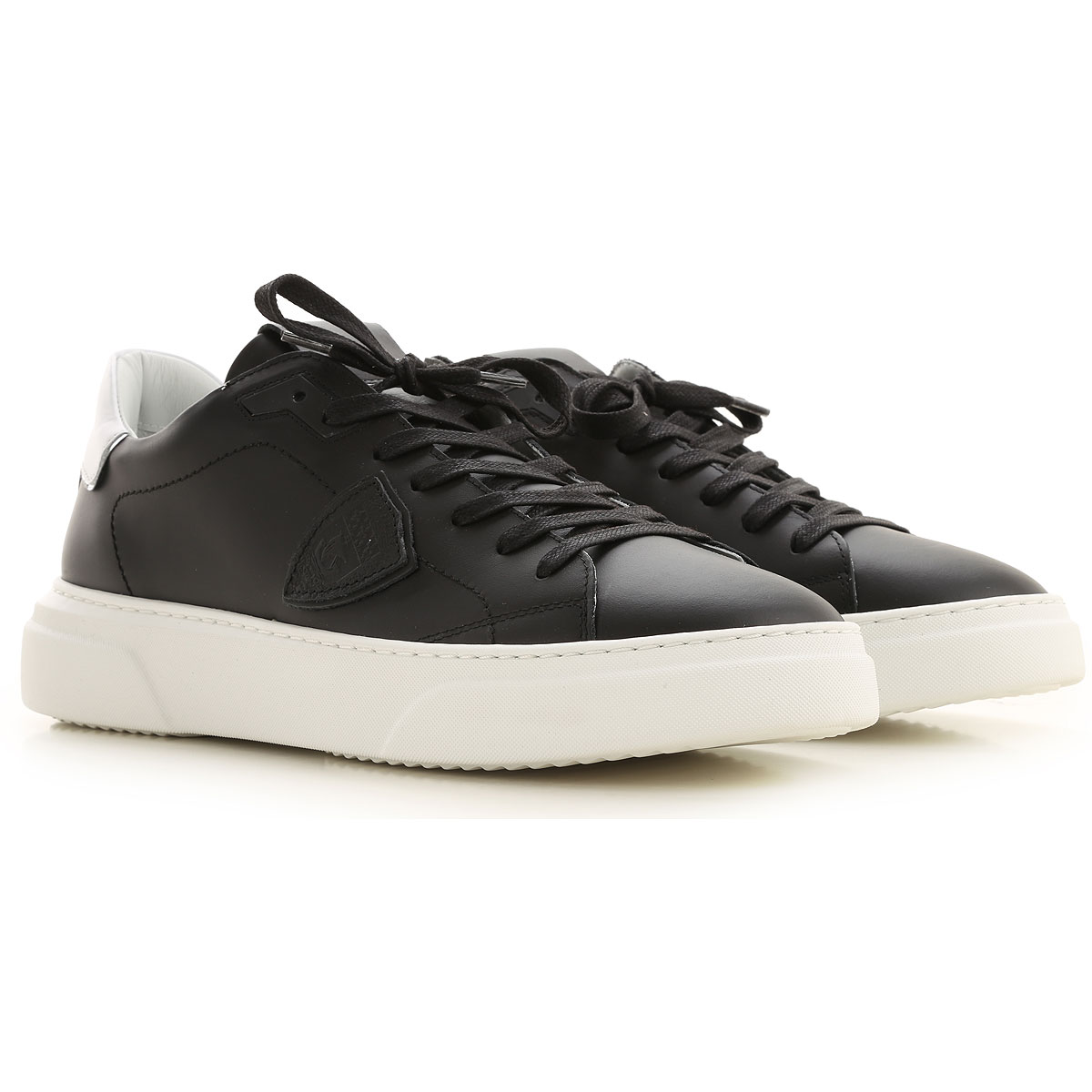 Philippe Model Sneakers for Men On Sale, Black, Leather, 2019, 10 11.5 8 9
