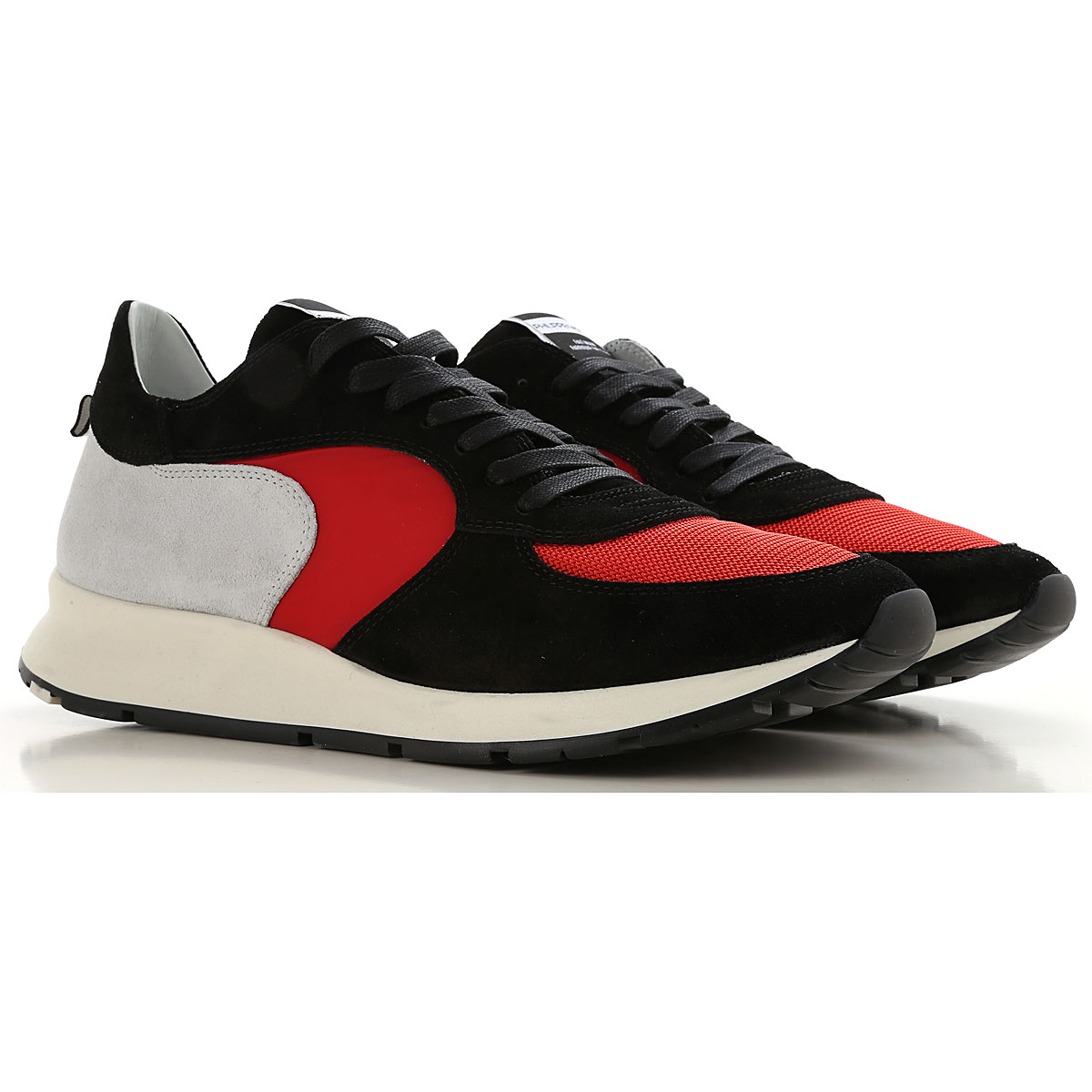 Philippe Model Sneakers for Men On Sale in Outlet, Black, Leather, 2019, 7.5 8