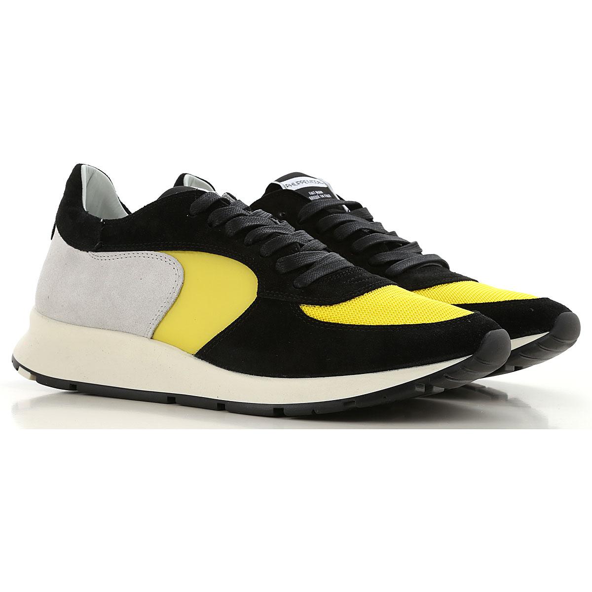 Philippe Model Sneakers voor Mannen In Aanbieding, Zwart, Suede, 2019, 41 42 43 44 45