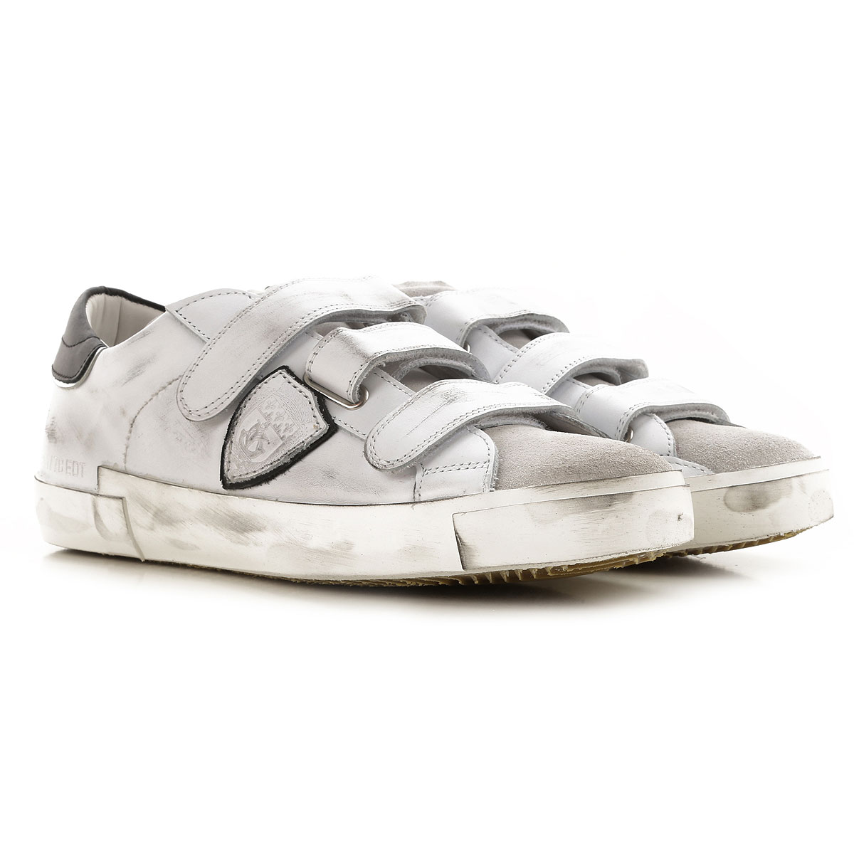 Philippe Model Sneakers for Men On Sale, Dirty White, Leather, 2019, 10 10.5 11.5 7.5 8 9