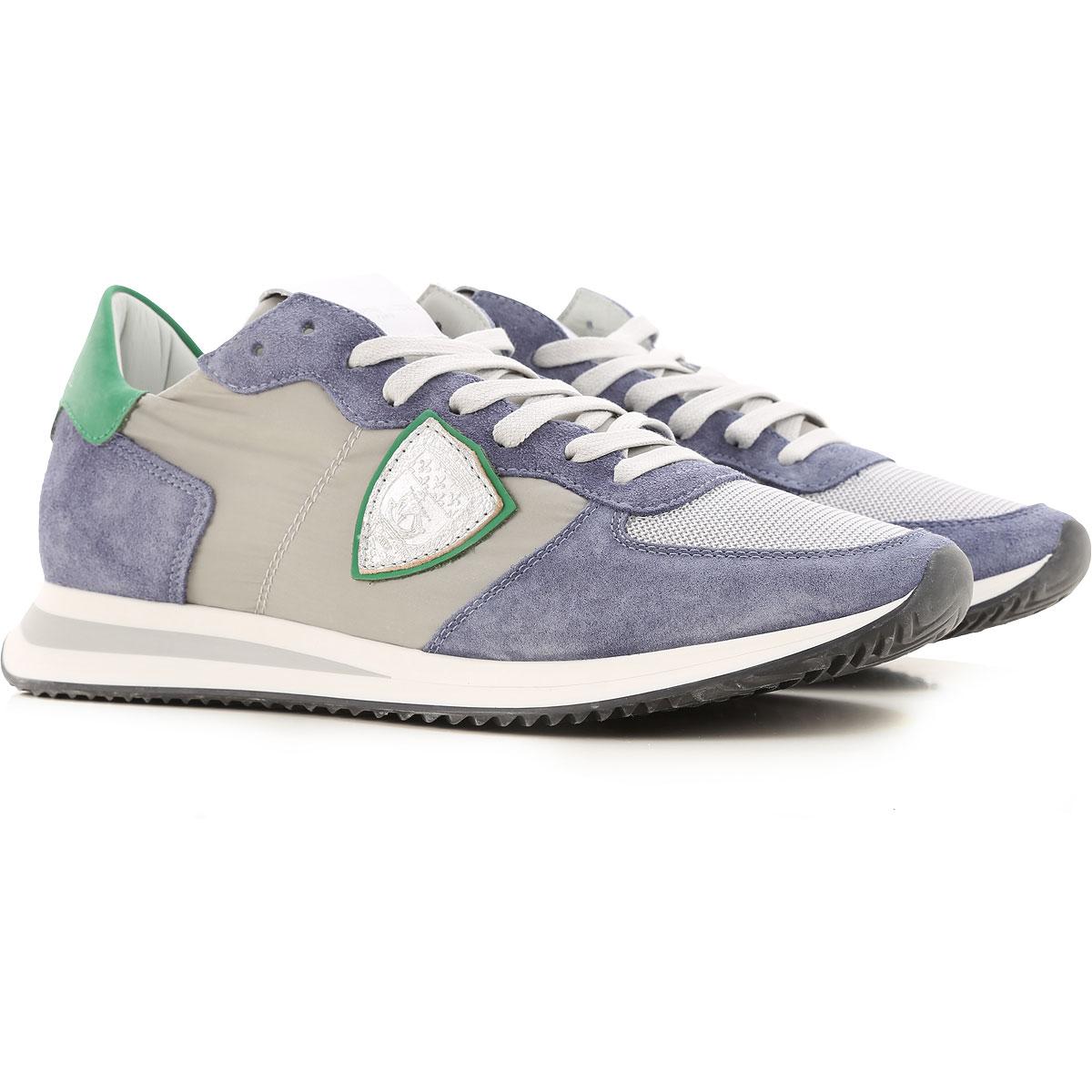 Philippe Model Sneakers for Men On Sale, Grey, Nylon, 2019, 10 10.5 11.5 7.5 8 9