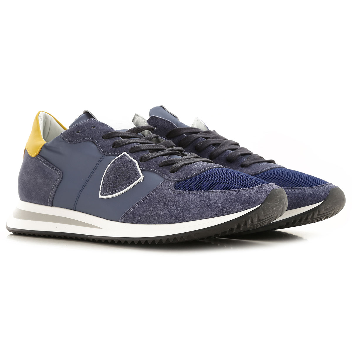 Philippe Model Mens Shoes On Sale, Denim, suede, 2019, 10 10.5 11.5 7.5 8 9
