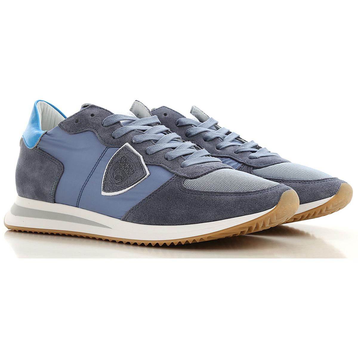 Philippe Model Sneakers for Men On Sale, Bluette, Nylon, 2019, 10 10.5 11.5 7.5 8 9