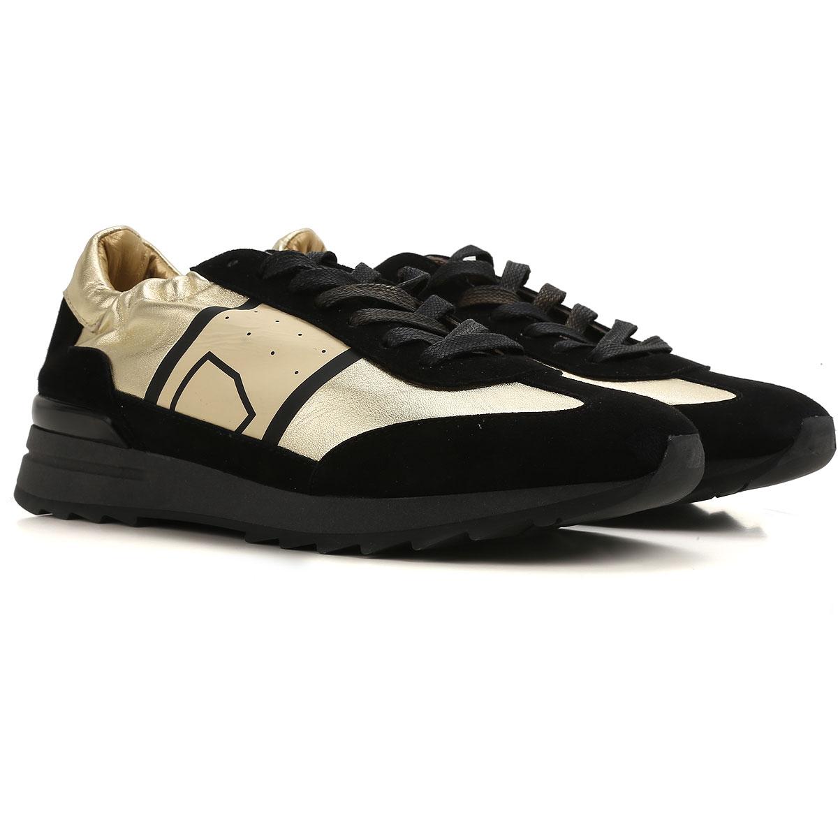 Philippe Model Sneaker Donna In Saldo, Oro, pelle, 2019, 36 37 38 40 41