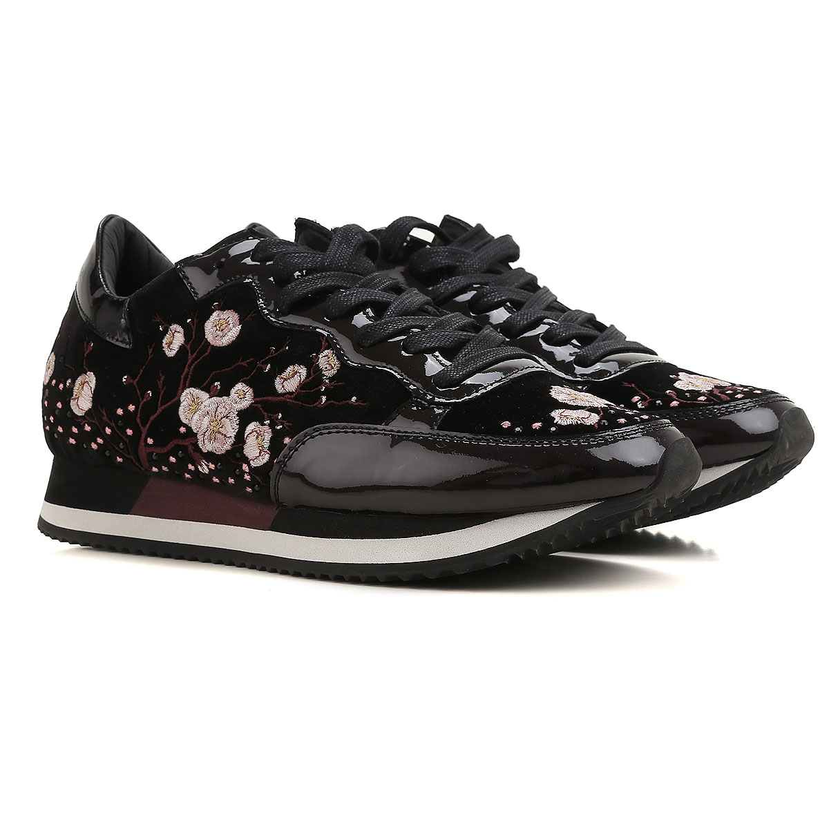 Philippe Model Sneakers for Women On Sale in Outlet, Black, Patent, 2019, 3.5 4.5 6.5