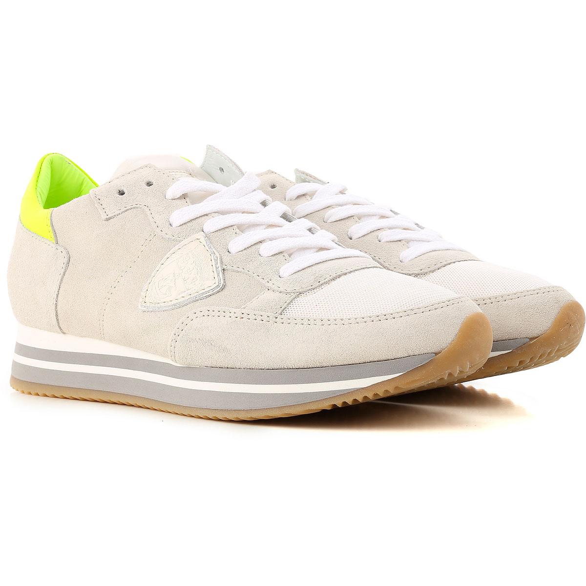 Philippe Model Sneakers voor Dames In Aanbieding, Grijs, Suede Leder, 2019, 37 38 40