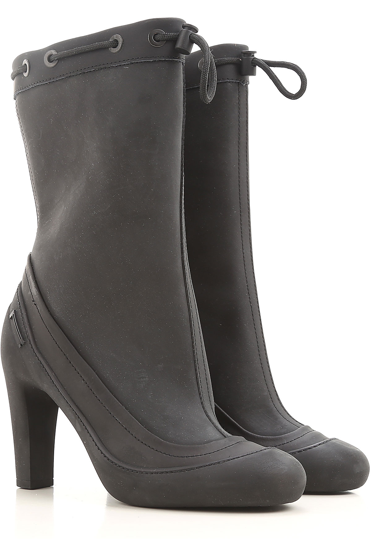 Pirelli Boots for Women, Booties On Sale in Outlet, Black, Rubber, 2019, EUR 35 - UK 2 - USA 4.5 EUR 36 - UK 3 - USA 5.5