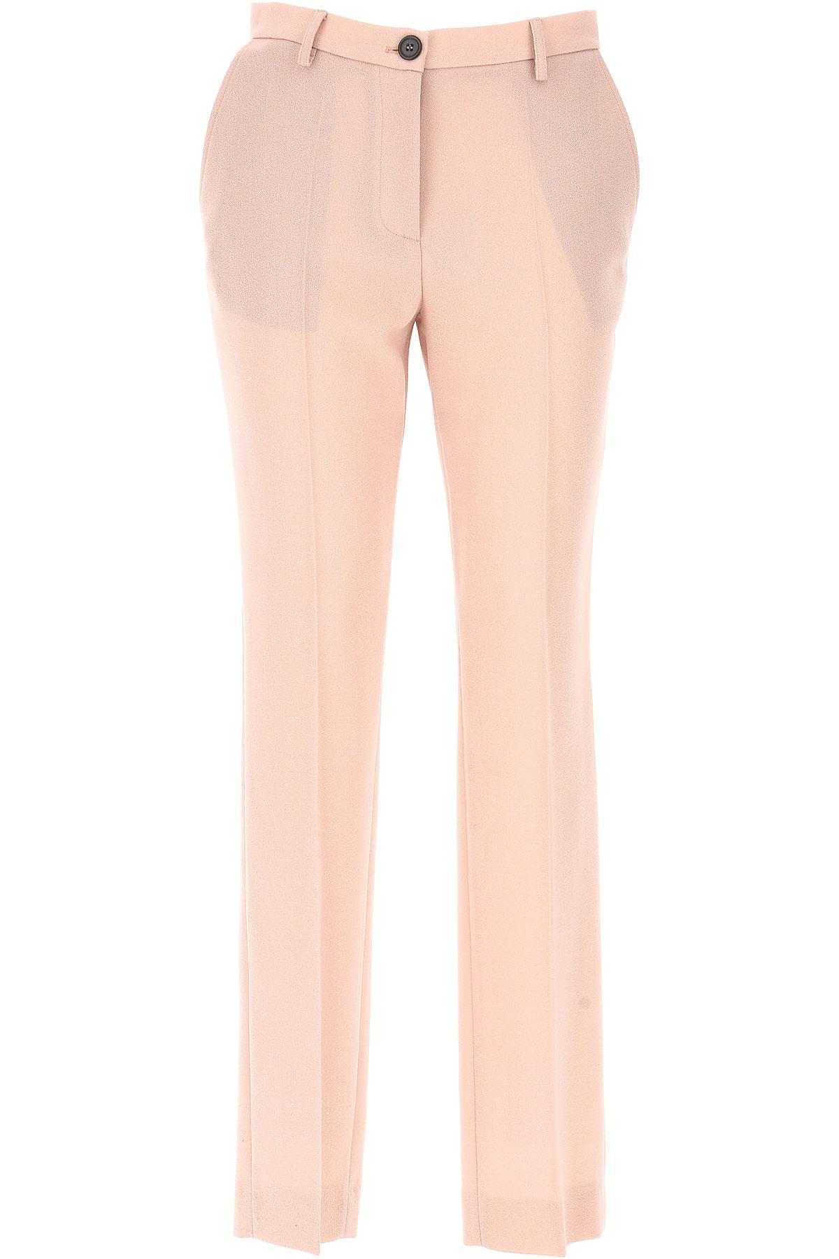 Piccione.Piccione Pantalon Femme Pas cher en Soldes, Rose Antique, Polyamide, 2017, 40 42 44
