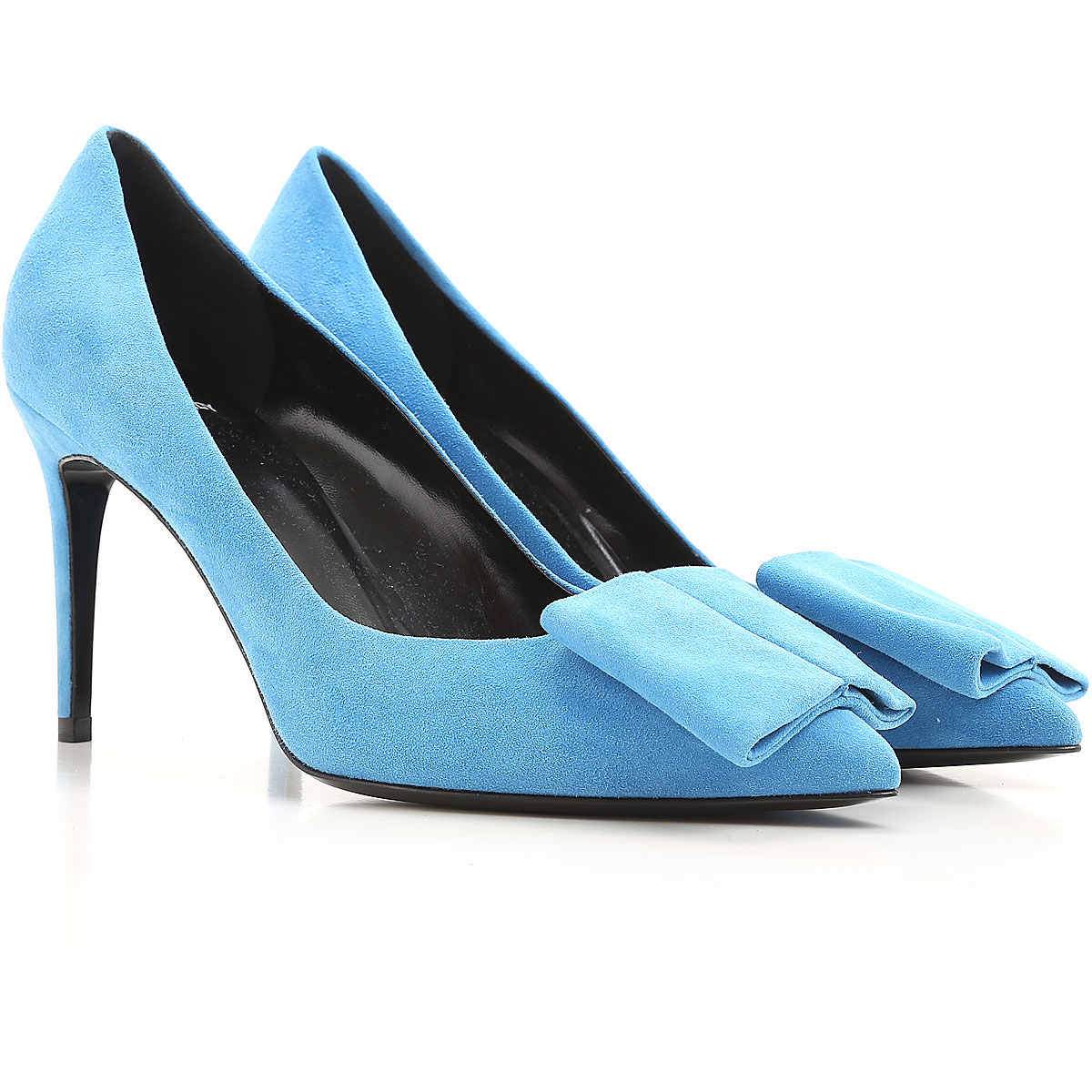 Image of Pierre Hardy Pumps & High Heels for Women On Sale, Celestial, Suede leather, 2017, 6 8.5