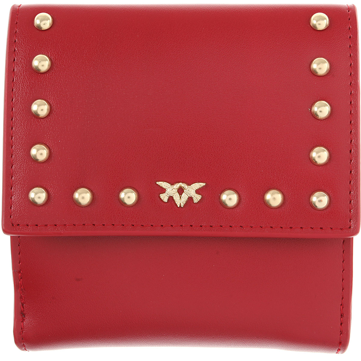 Image of Pinko Wallet for Women, Red, Leather, 2017