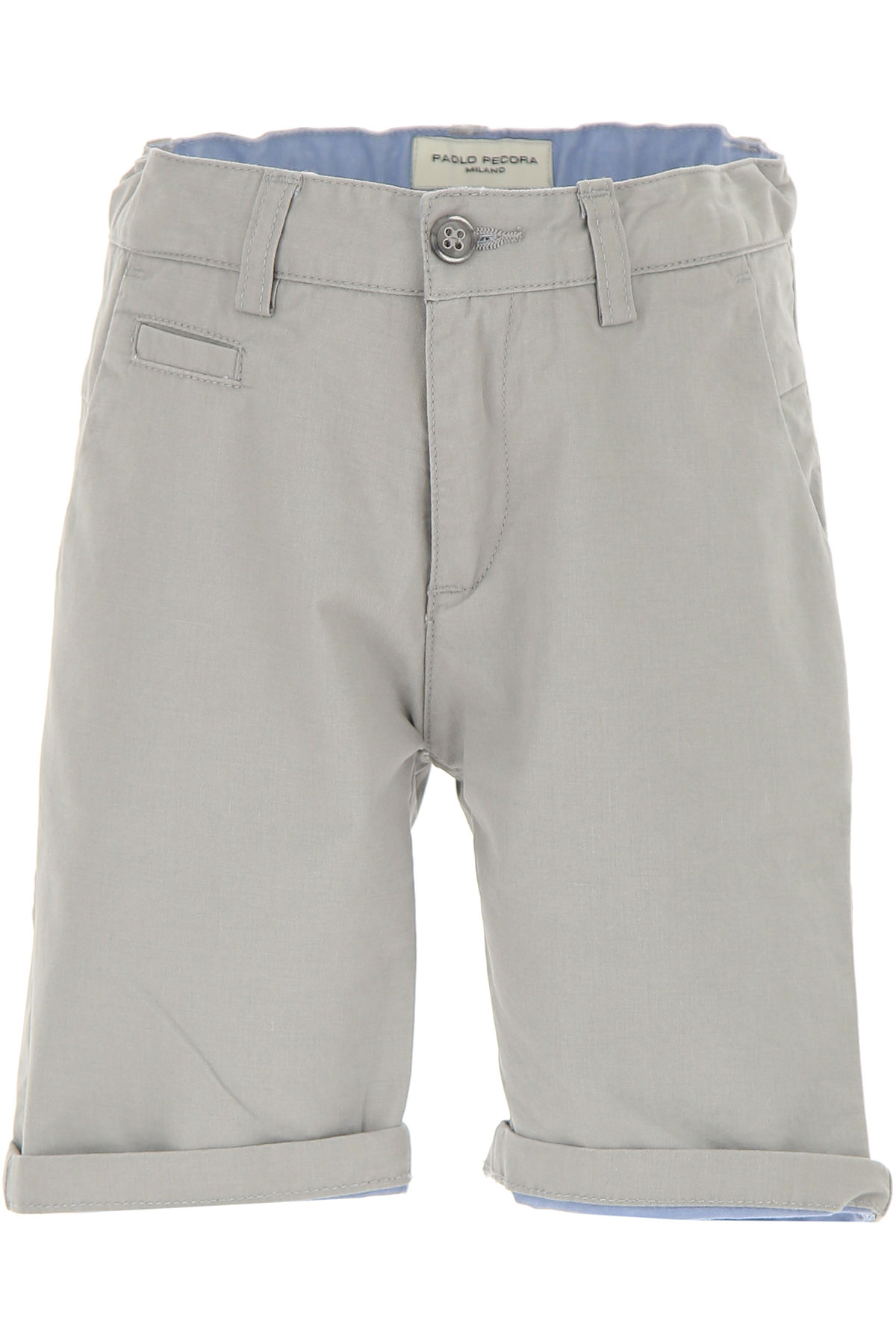Paolo Pecora Kids Shorts for Boys On Sale in Outlet, Beige, Cotton, 2019, 5Y 6Y