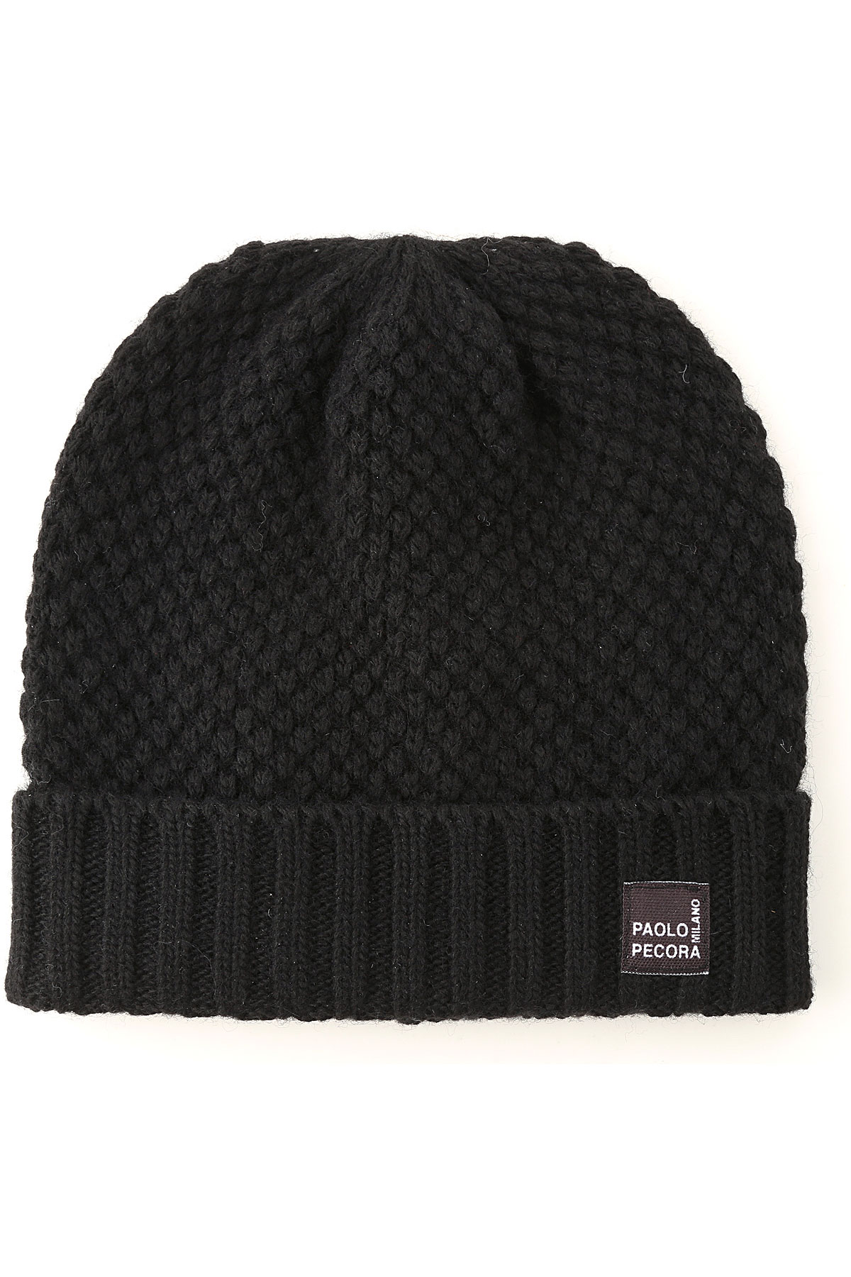 Paolo Pecora Kids Hats for Boys On Sale, Black, Wool, 2019, 16Y 6Y