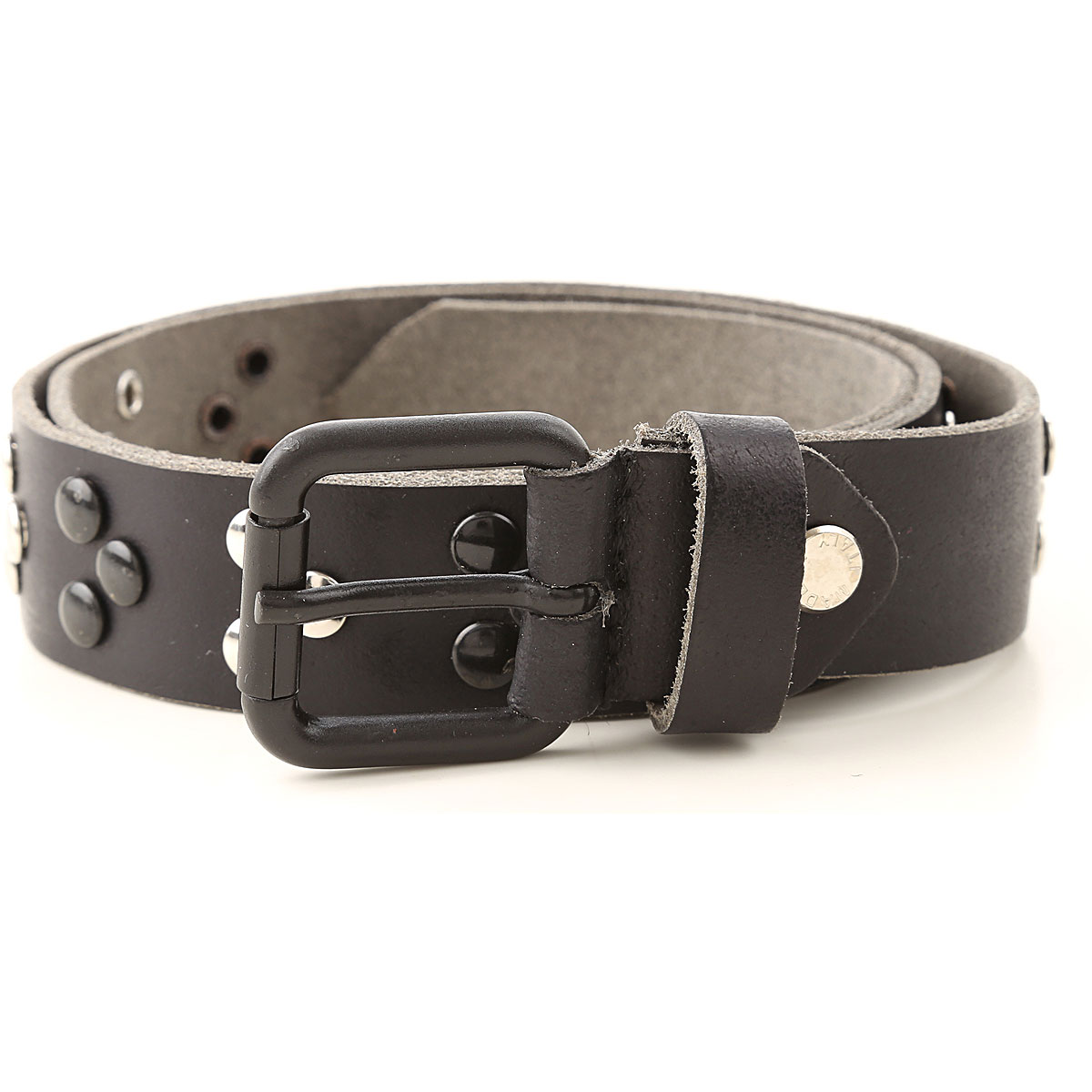 Paolo Pecora Kids Belts for Boys On Sale, Black, real leather, 2019, 10 Y 16 Y 4 Y 6 Y