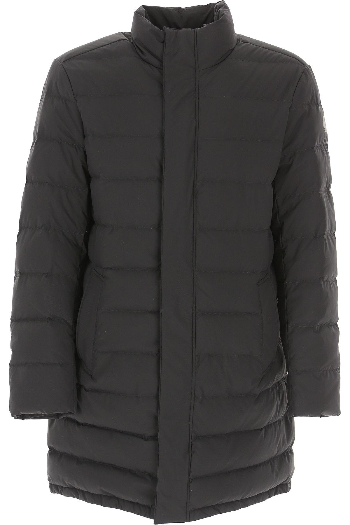 People of Shibuya Down Jacket for Men, Puffer Ski Jacket On Sale, Black, polyester, 2019, L XL