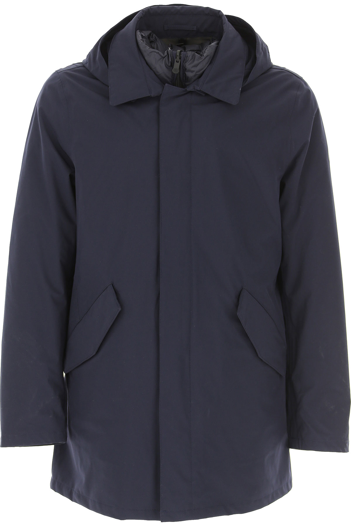 People of Shibuya Down Jacket for Men, Puffer Ski Jacket On Sale, Ink Blue, polyamide, 2019, L M XL