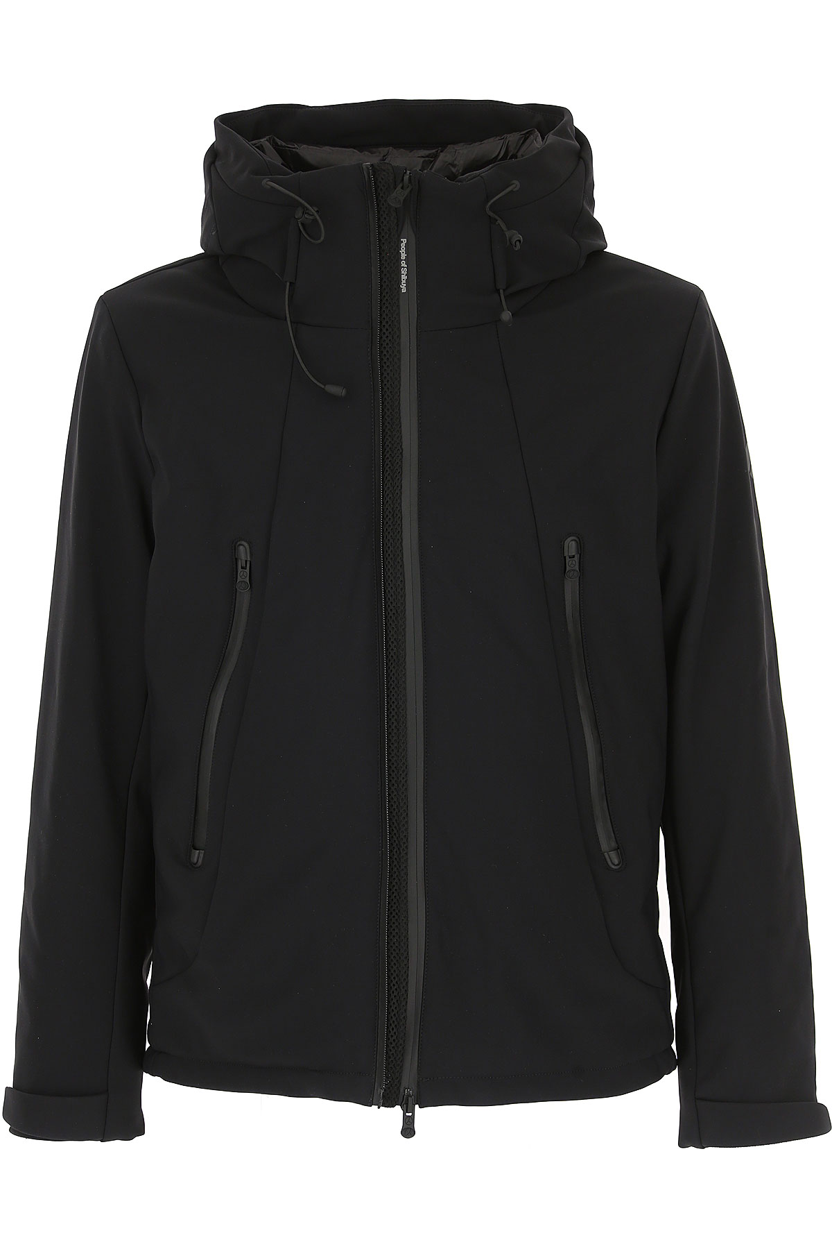 People of Shibuya Down Jacket for Men, Puffer Ski Jacket On Sale, Black, polyamide, 2019, L M S XL XXL