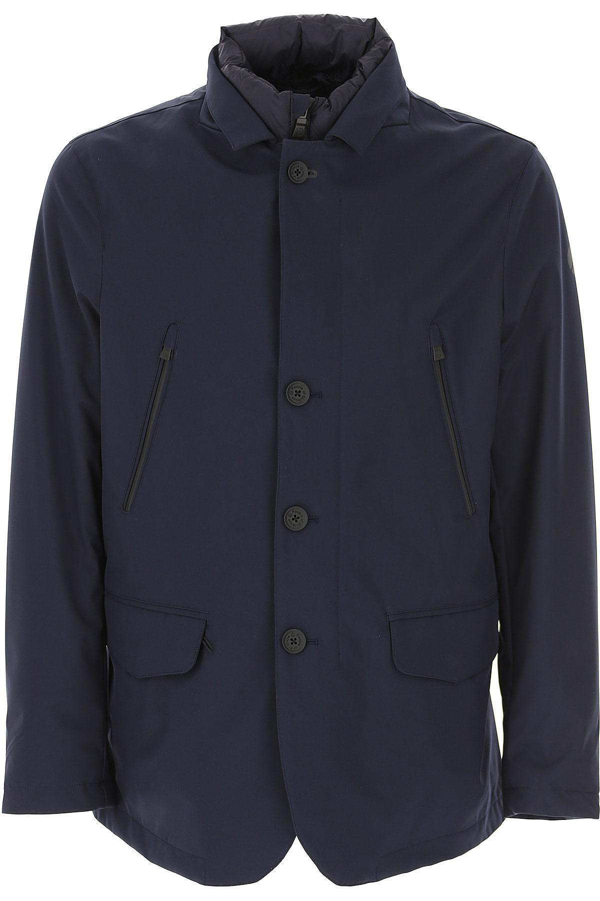 People of Shibuya Veste Homme, Bleu, Polyester, 2019, L XL