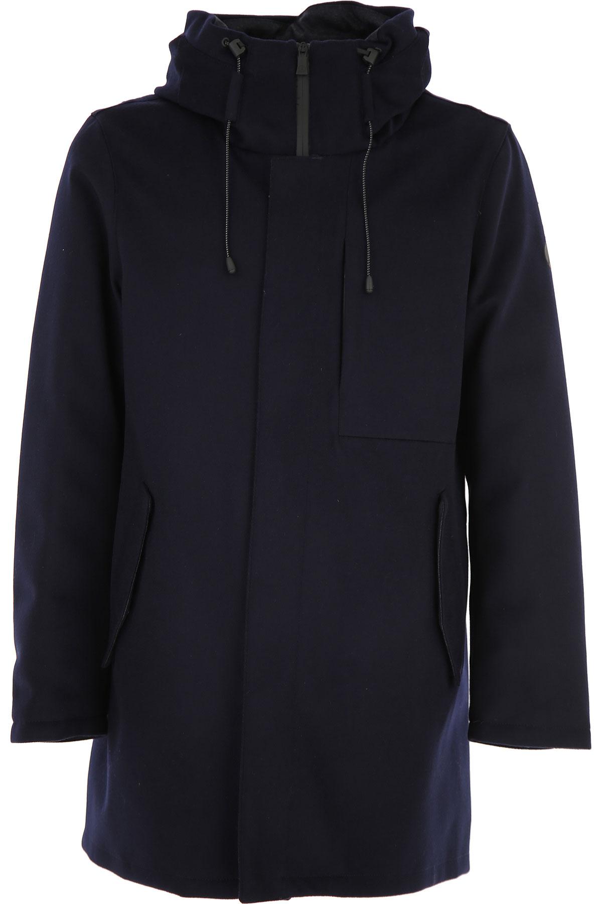 People of Shibuya Jacket for Men On Sale, Blue, Wool, 2019, M XL XXL