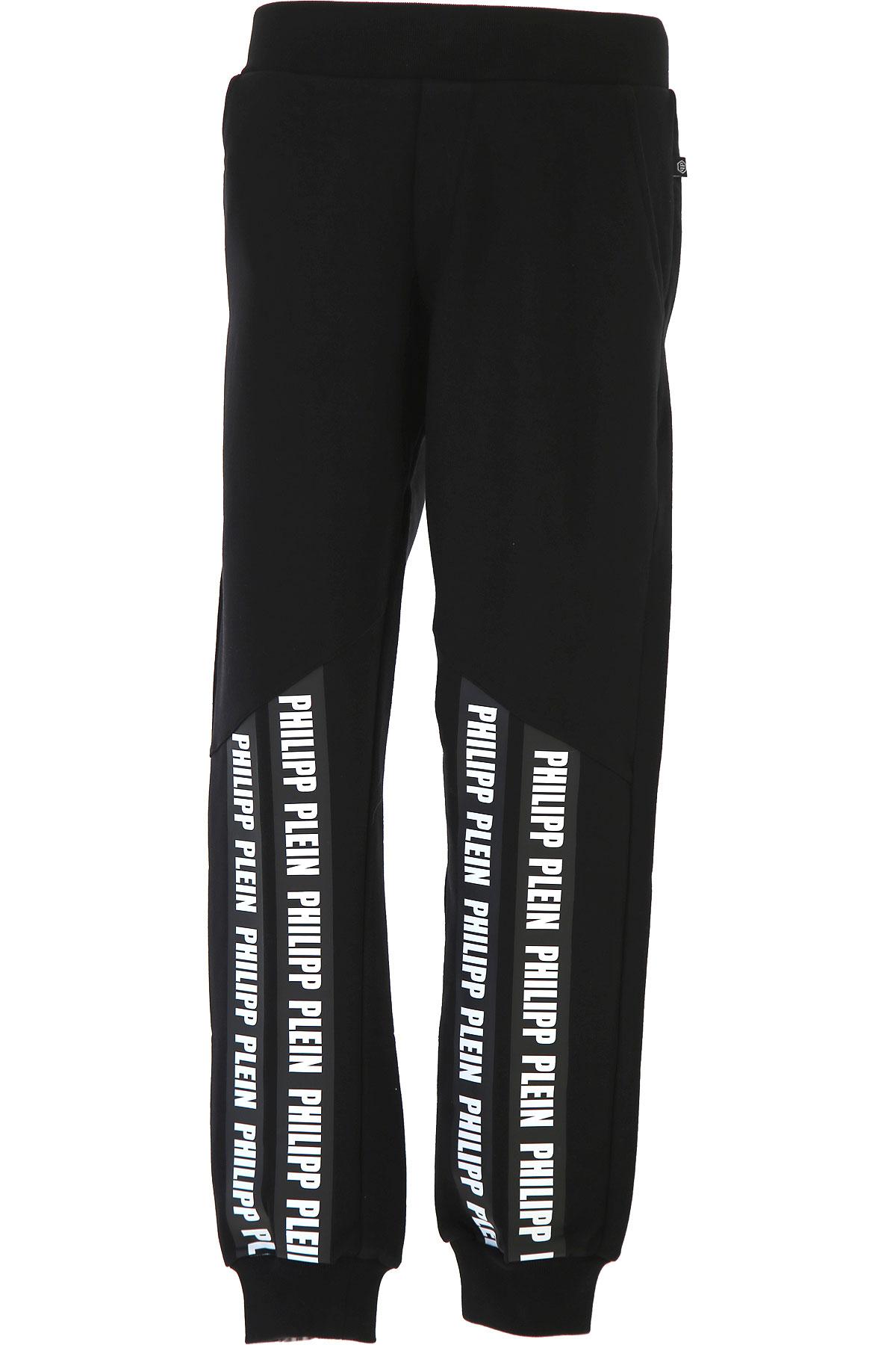 Philipp Plein Kids Sweatpants for Boys On Sale, Black, Cotton, 2019, 10Y 12Y 14Y 16Y 8Y