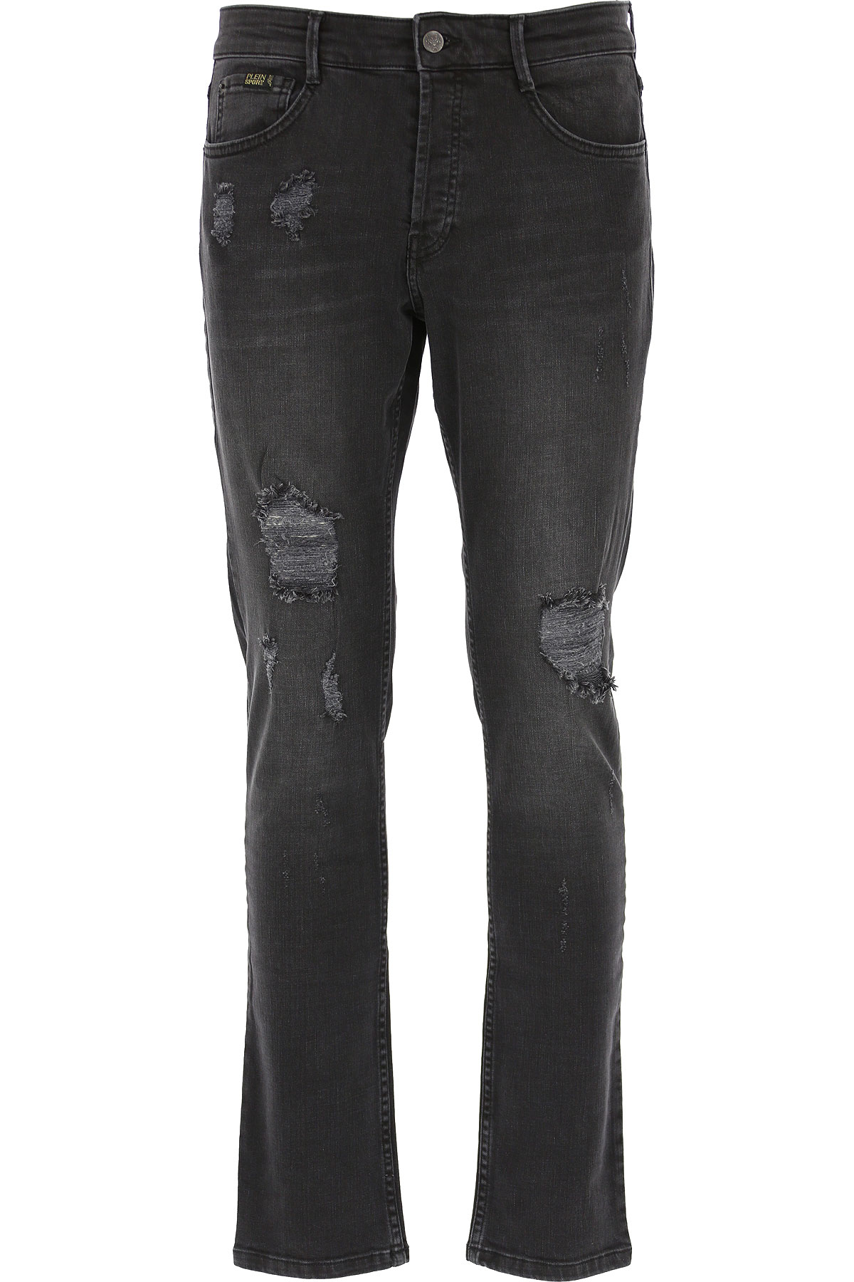 Philipp Plein Jeans On Sale, Black, Cotton, 2019, 31 32 33 34 36 38